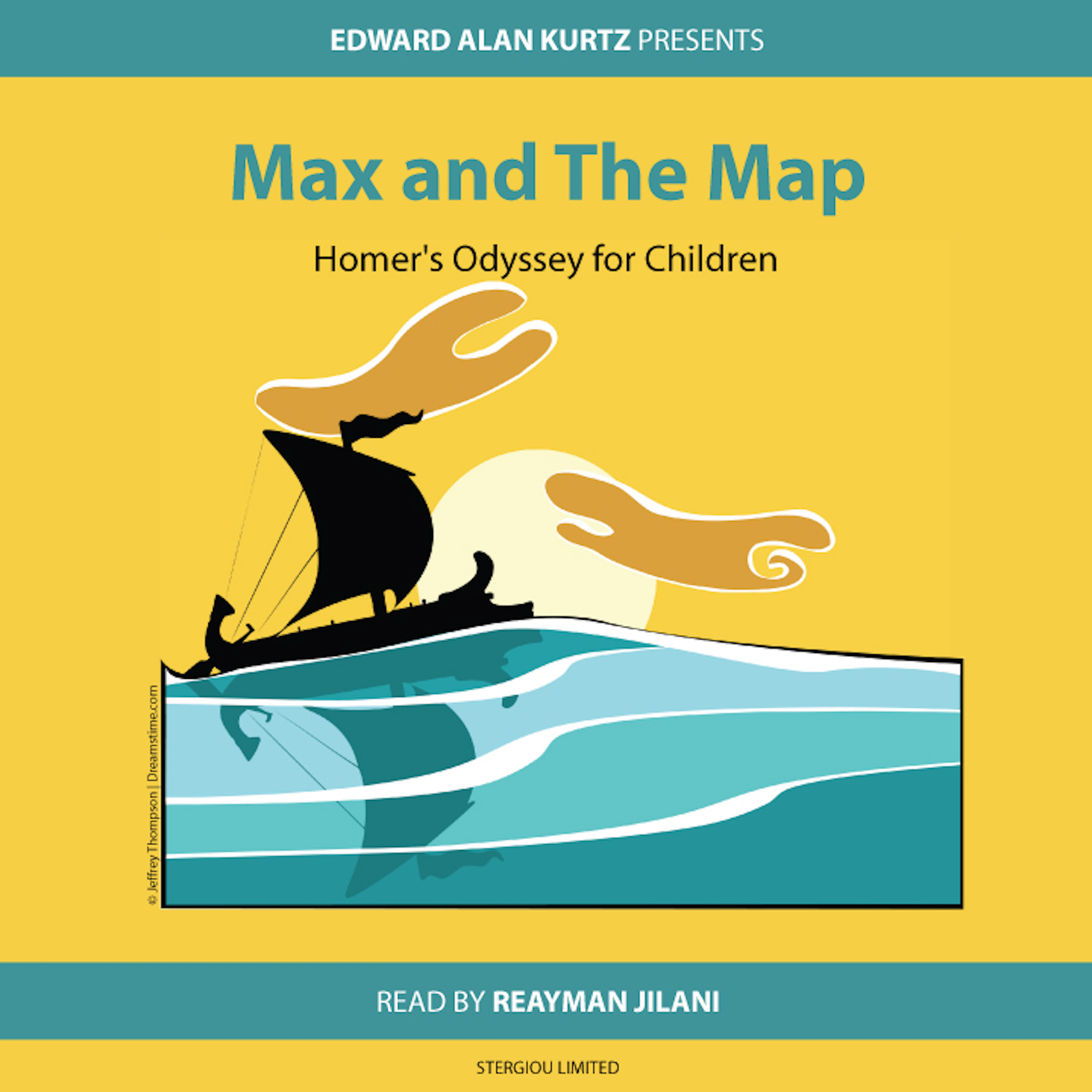 Printable Max and the Map: Homer's Odyssey for Children Audiobook Cover Art