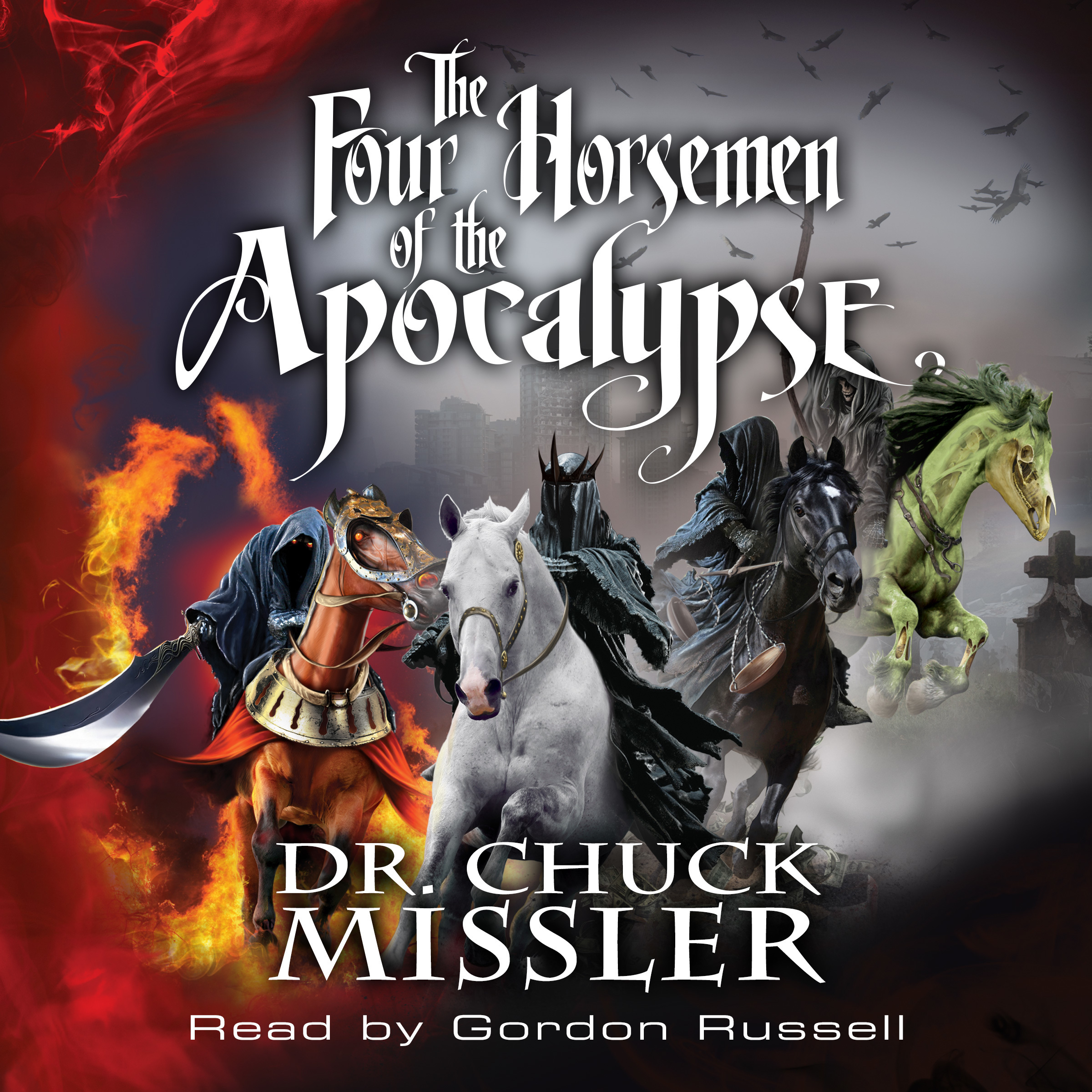 Printable The Four Horsemen of the Apocalypse  Audiobook Cover Art