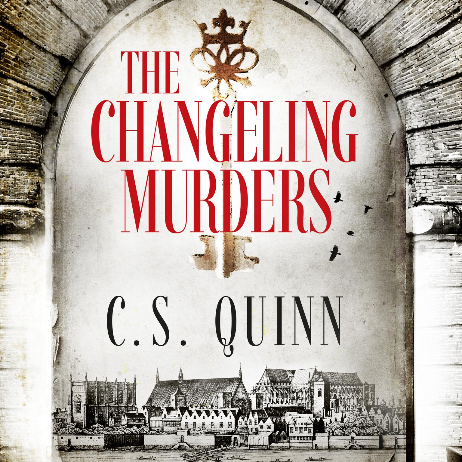 Printable The Changeling Murders Audiobook Cover Art