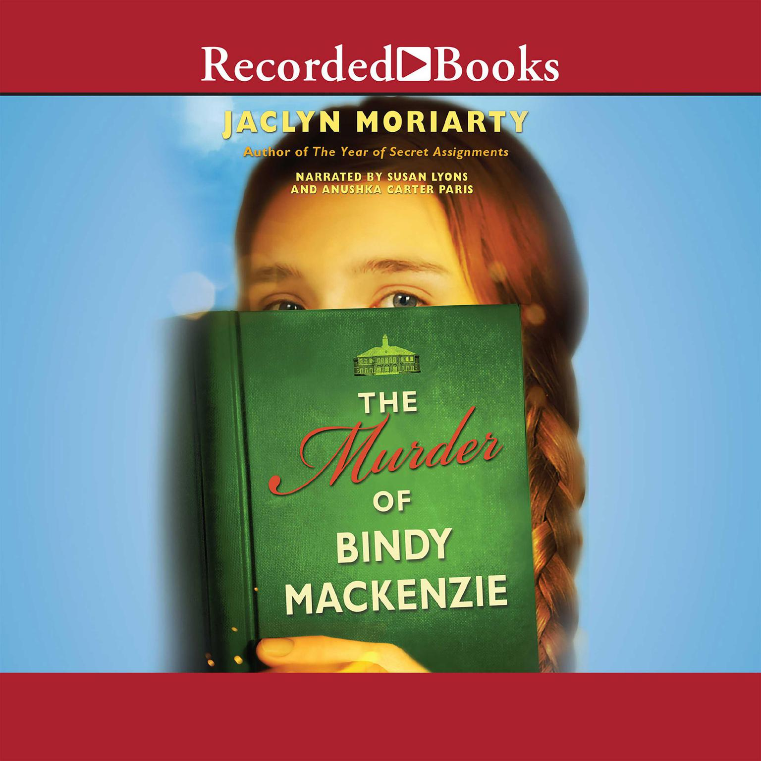 Printable The Murder of Bindy Mackenzie Audiobook Cover Art