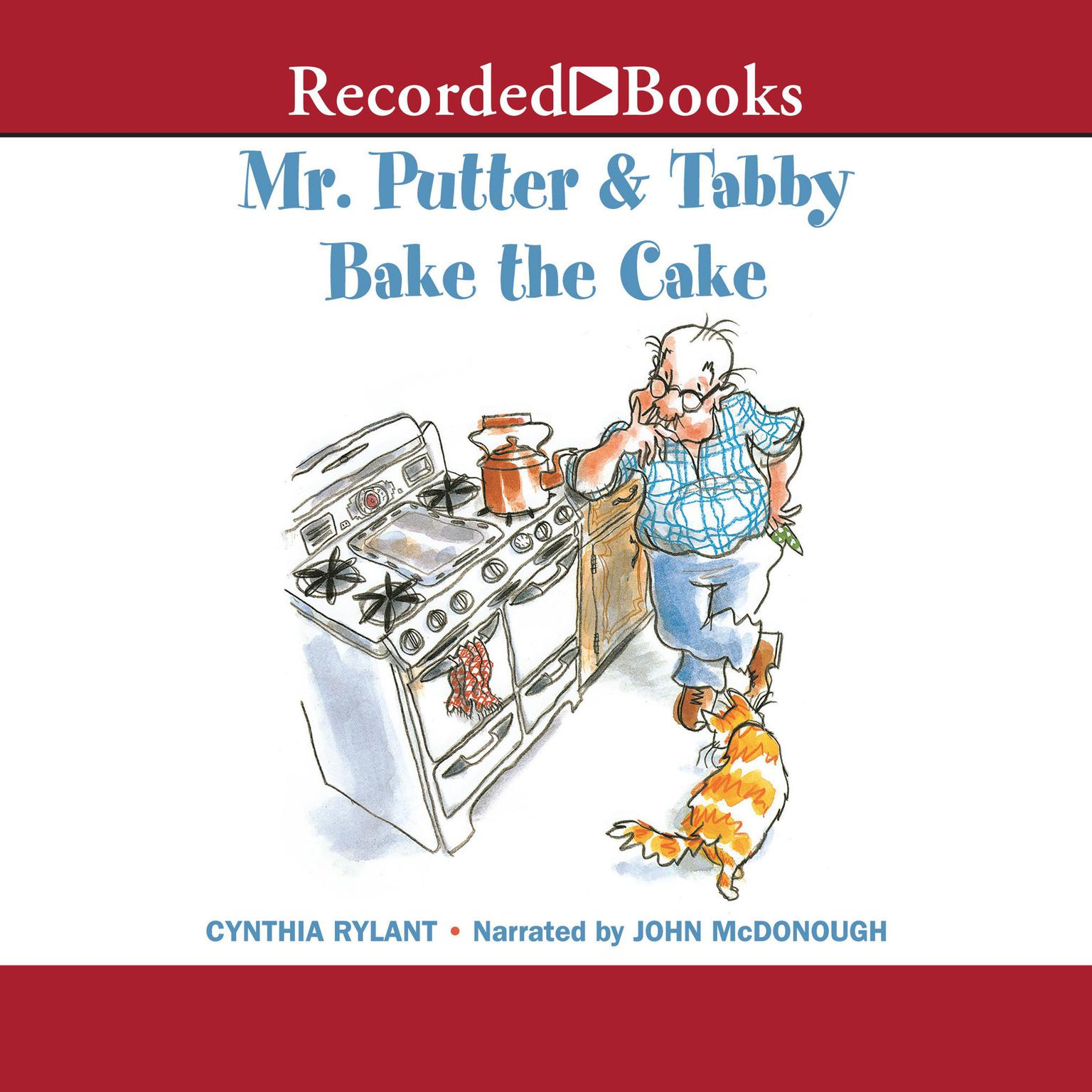 Printable Mr. Putter and Tabby Bake the Cake Audiobook Cover Art