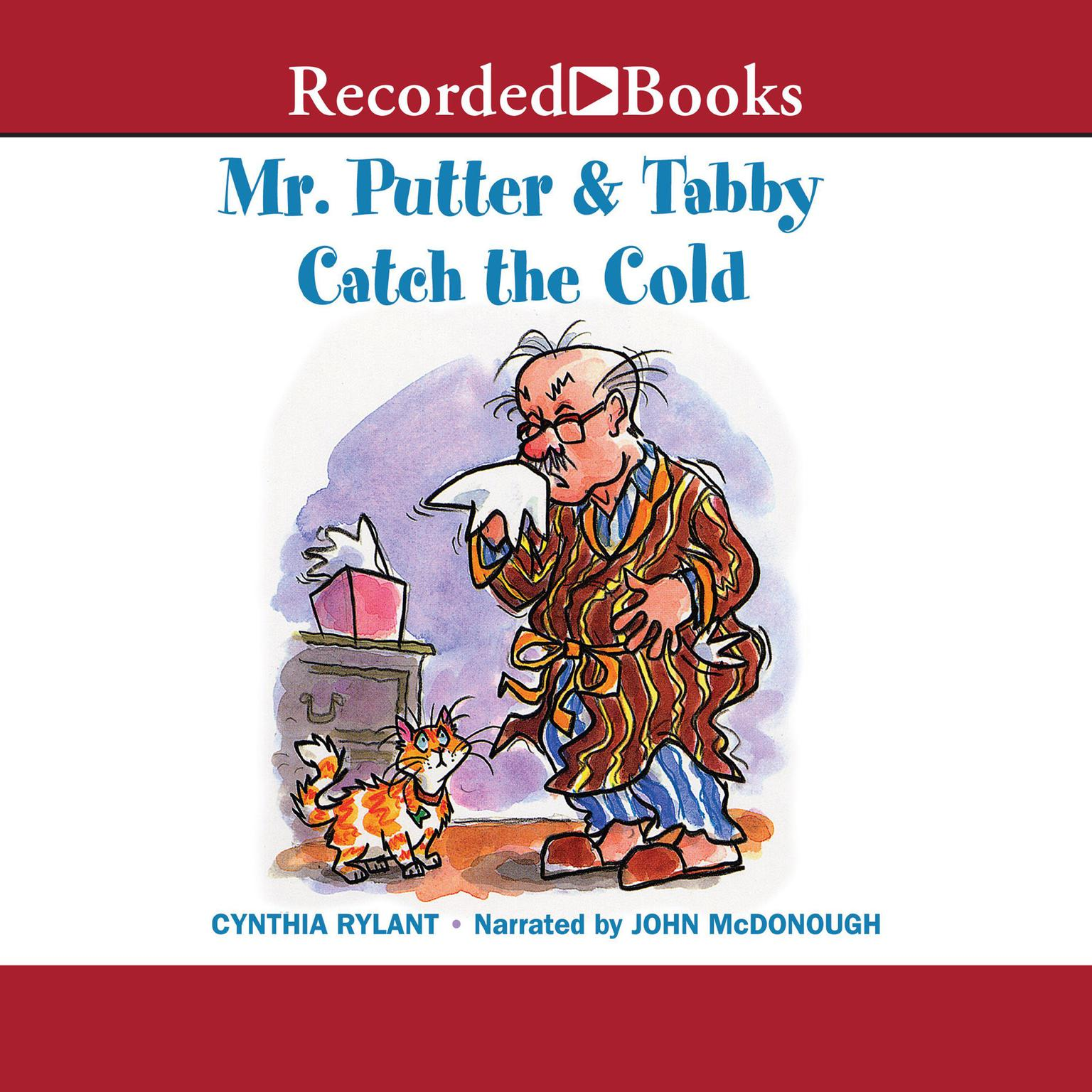 Printable Mr. Putter and Tabby Catch the Cold Audiobook Cover Art