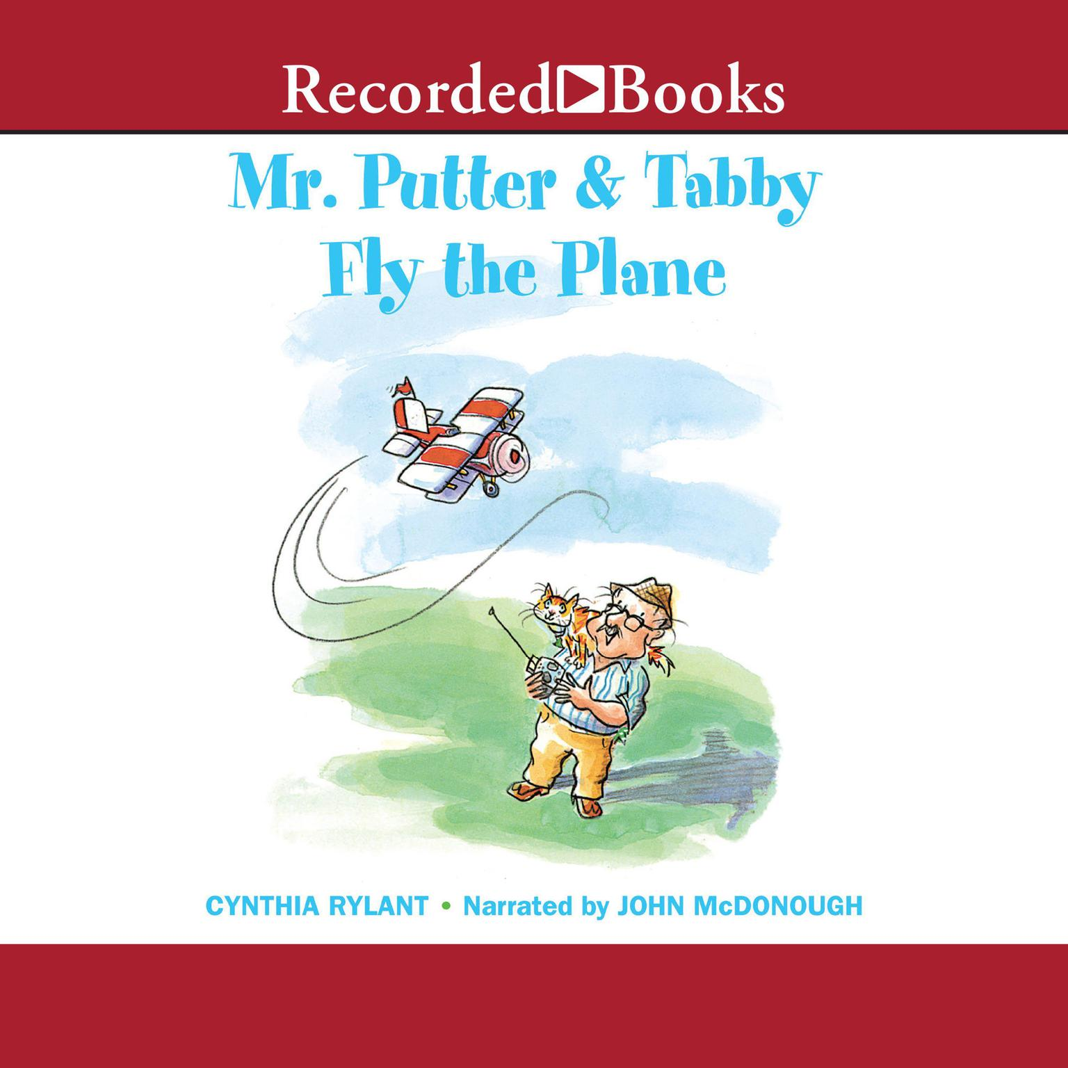 Printable Mr. Putter and Tabby Fly the Plane Audiobook Cover Art