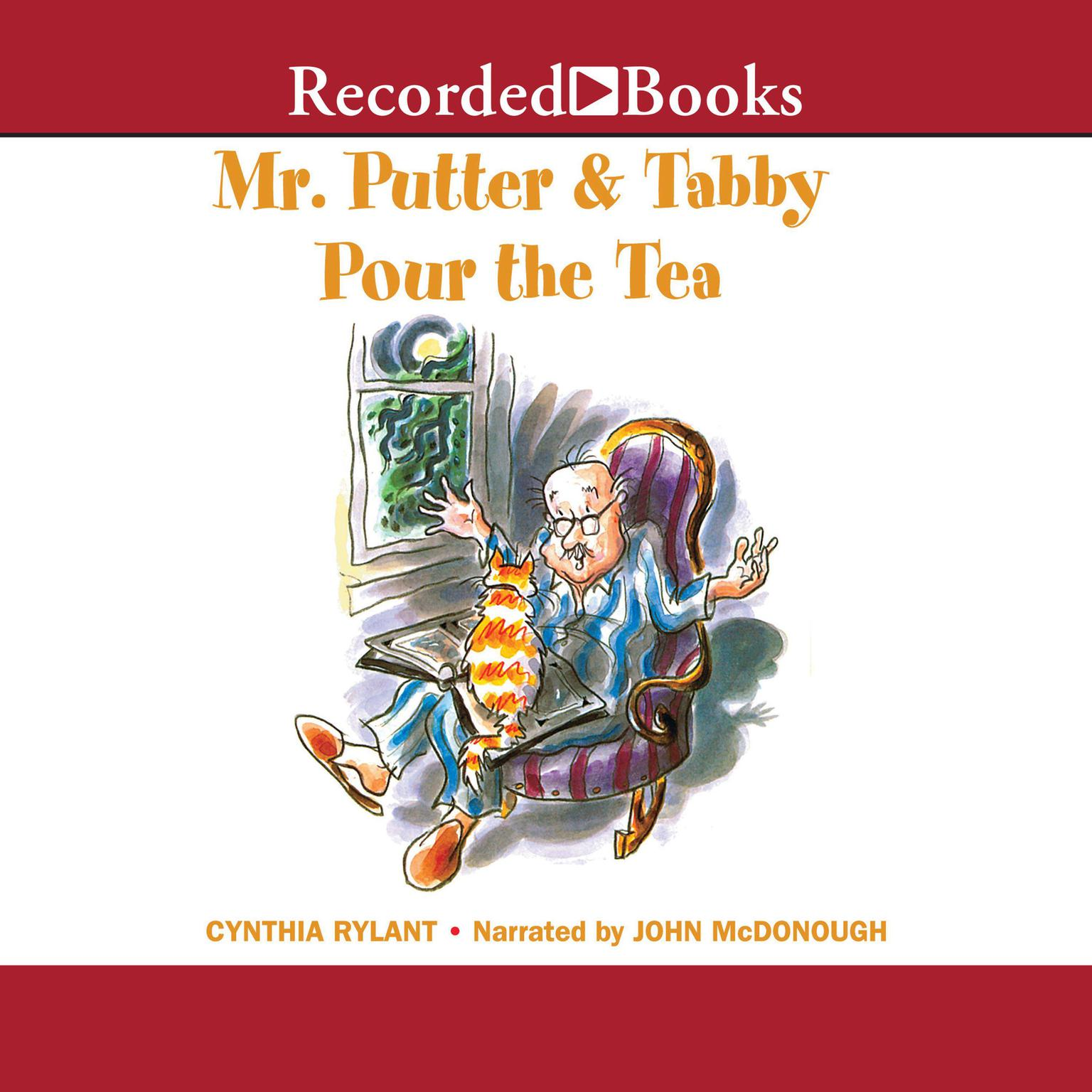 Printable Mr. Putter and Tabby Pour the Tea Audiobook Cover Art