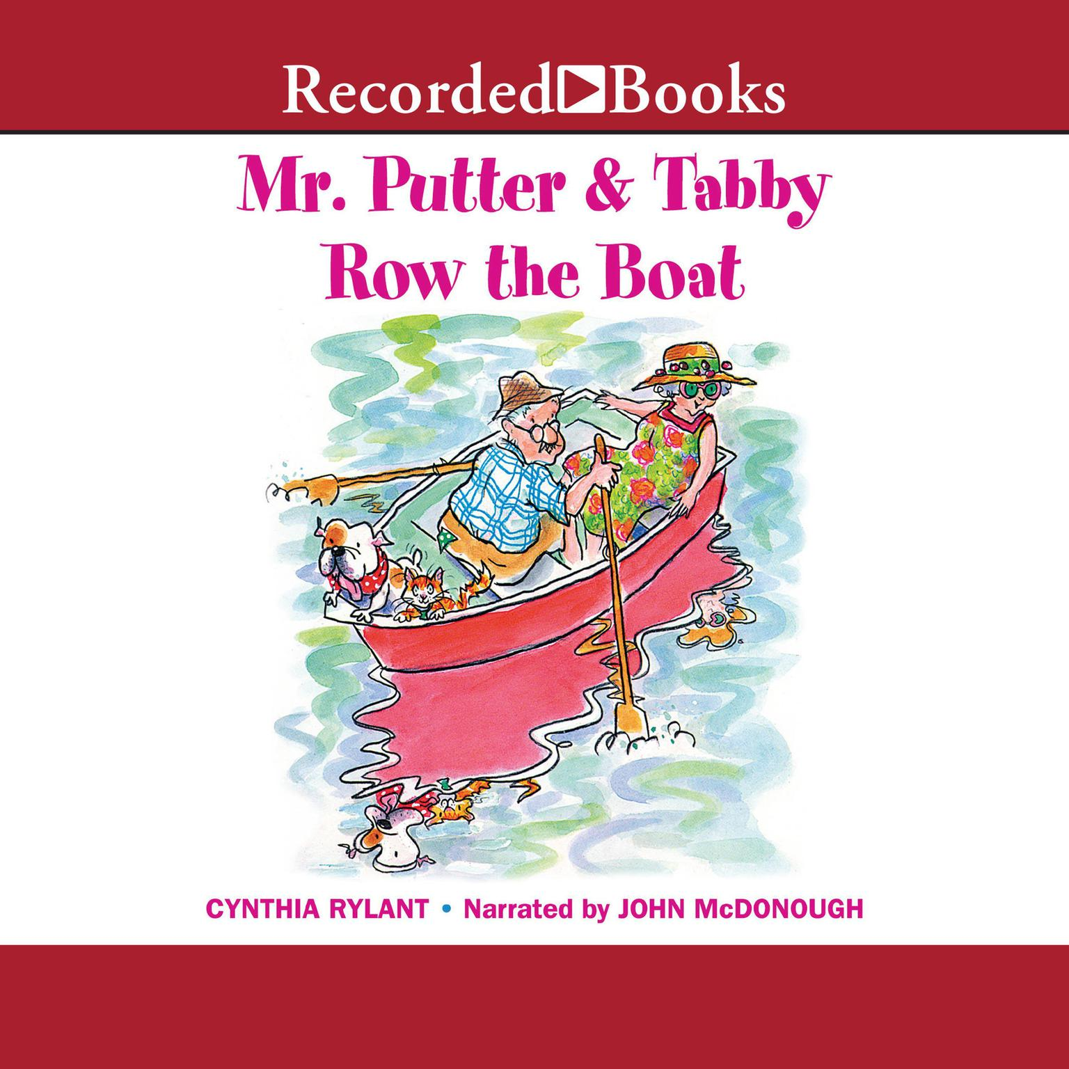 Printable Mr. Putter and Tabby Row the Boat Audiobook Cover Art