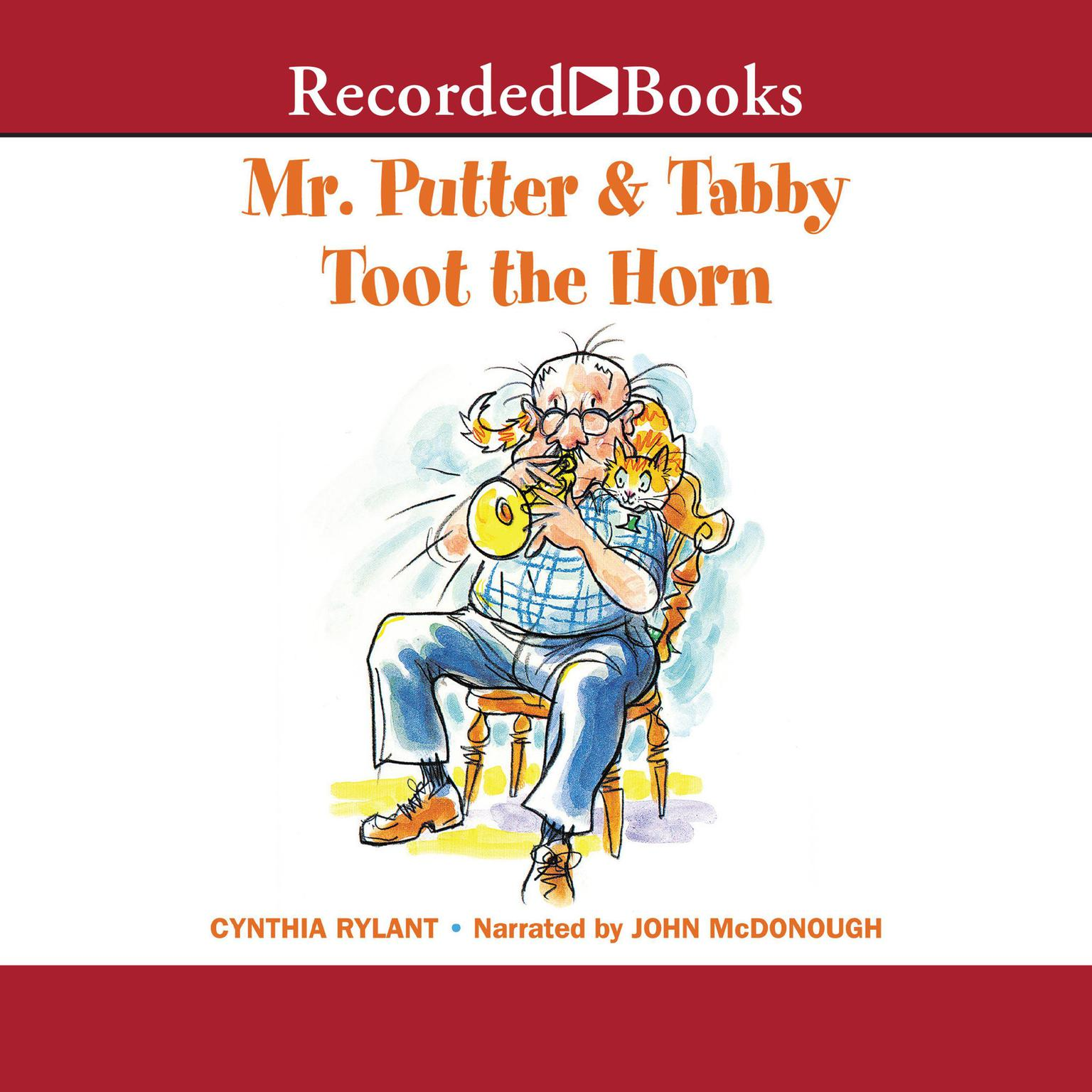 Printable Mr. Putter and Tabby Toot the Horn Audiobook Cover Art