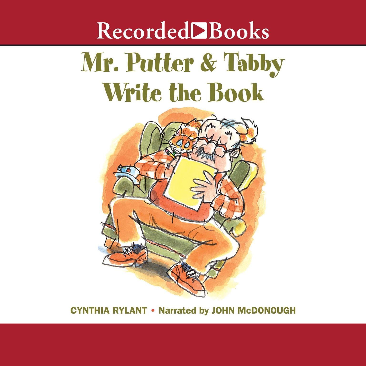 Printable Mr. Putter and Tabby Write the Book Audiobook Cover Art