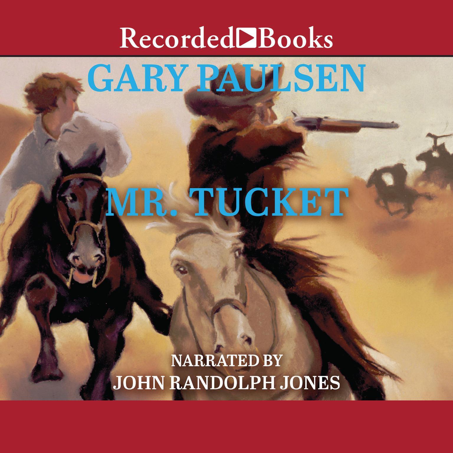 Printable Mr. Tucket Audiobook Cover Art
