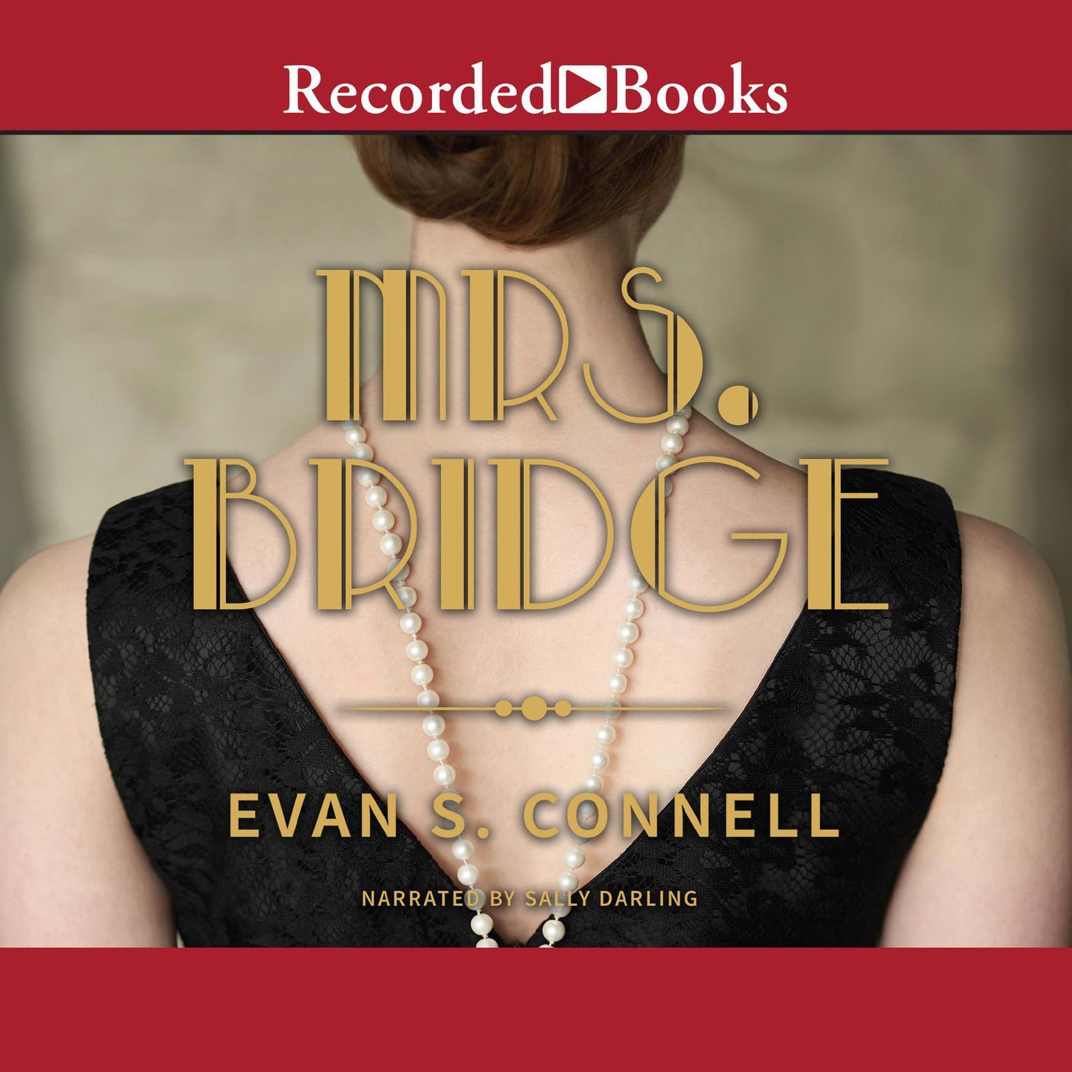 Printable Mrs. Bridge Audiobook Cover Art