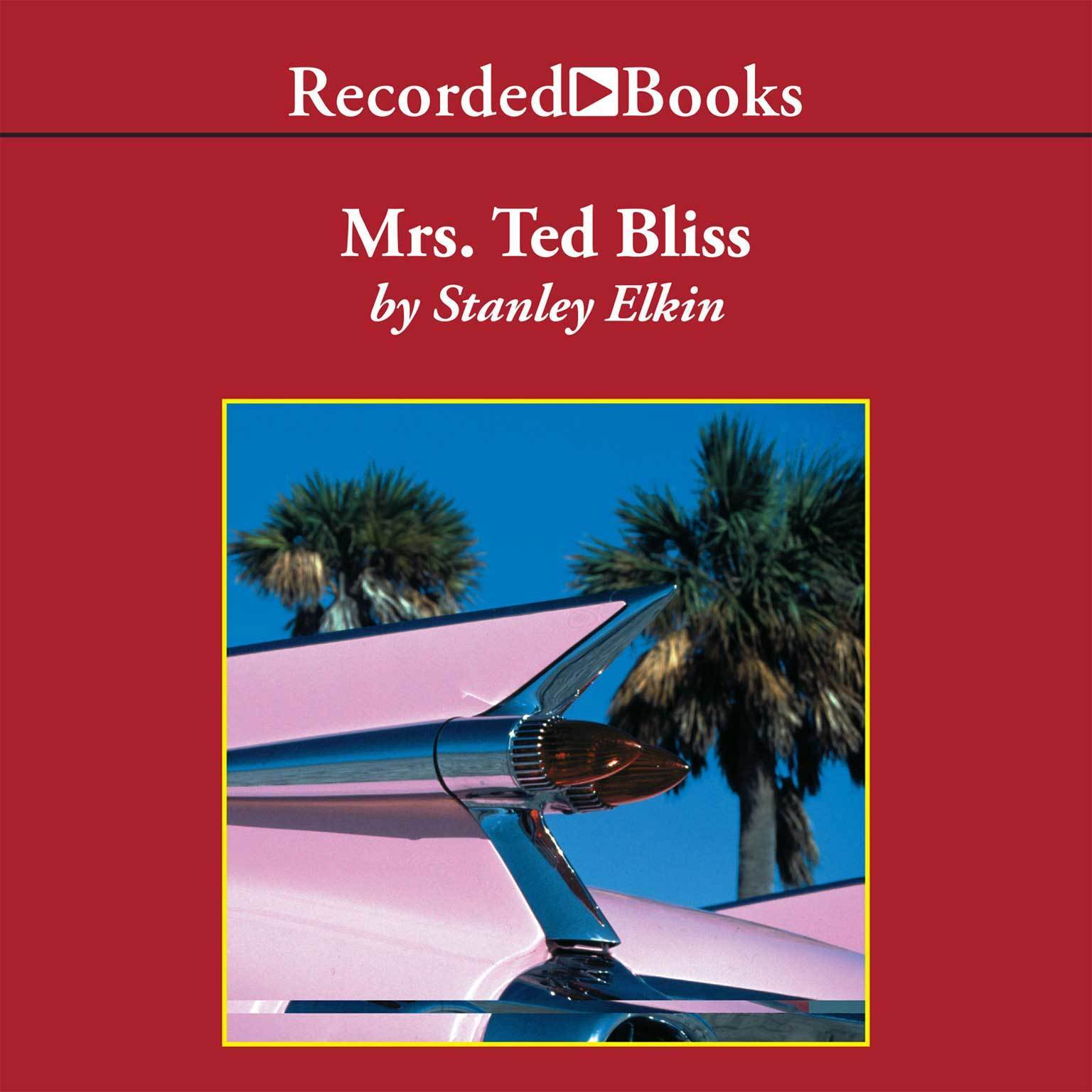 Printable Mrs. Ted Bliss Audiobook Cover Art
