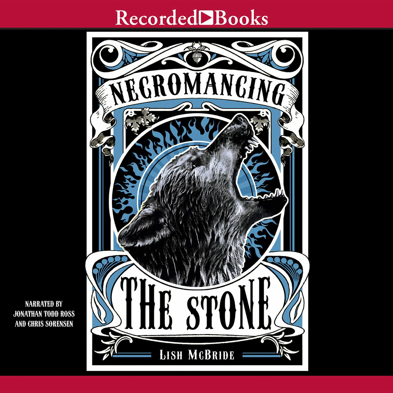 Printable Necromancing the Stone Audiobook Cover Art