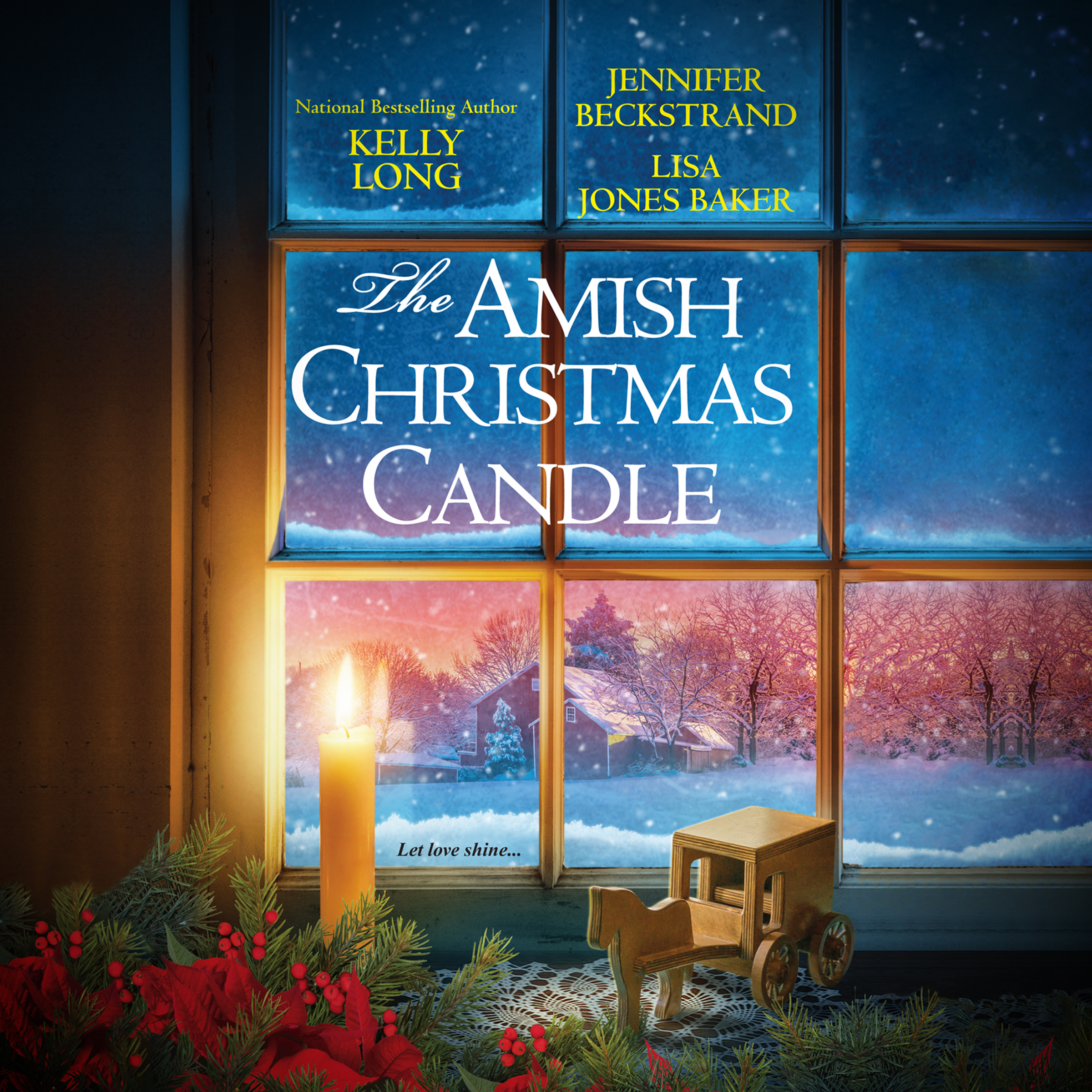Printable The Amish Christmas Candle Audiobook Cover Art