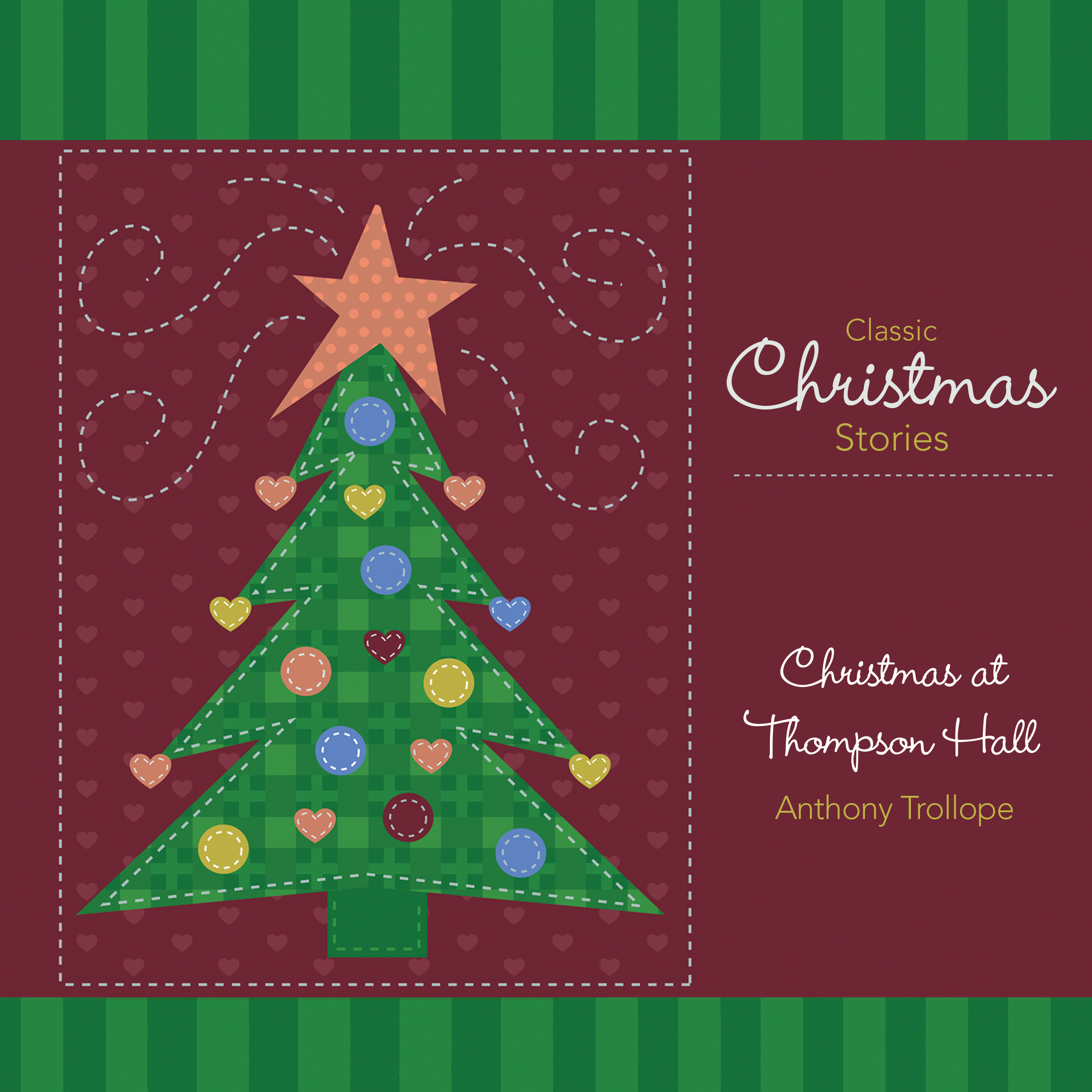 Printable Christmas at Thompson Hall: And Other Christmas Stories Audiobook Cover Art