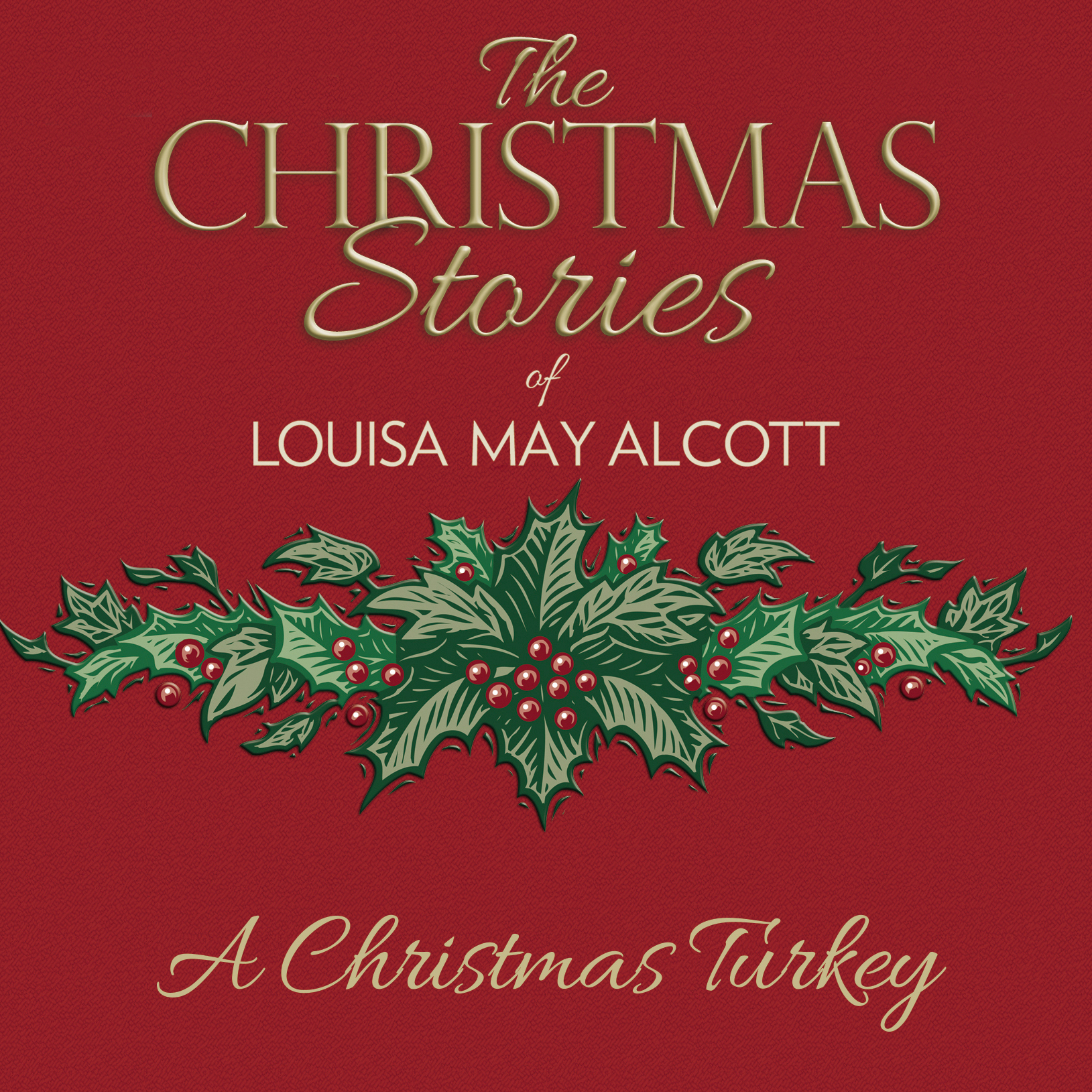 Printable A Christmas Turkey Audiobook Cover Art