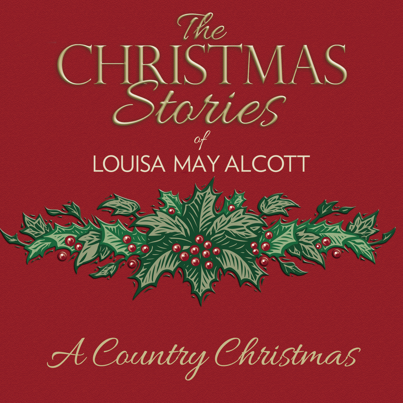 Printable A Country Christmas Audiobook Cover Art