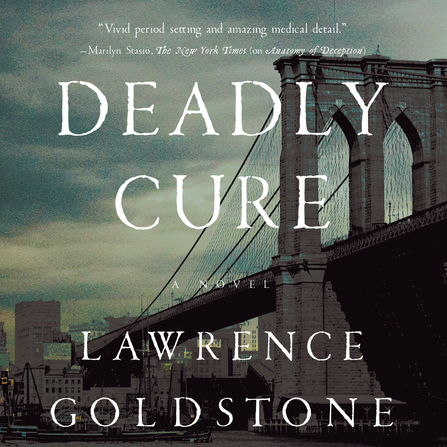 Printable Deadly Cure: A Novel Audiobook Cover Art