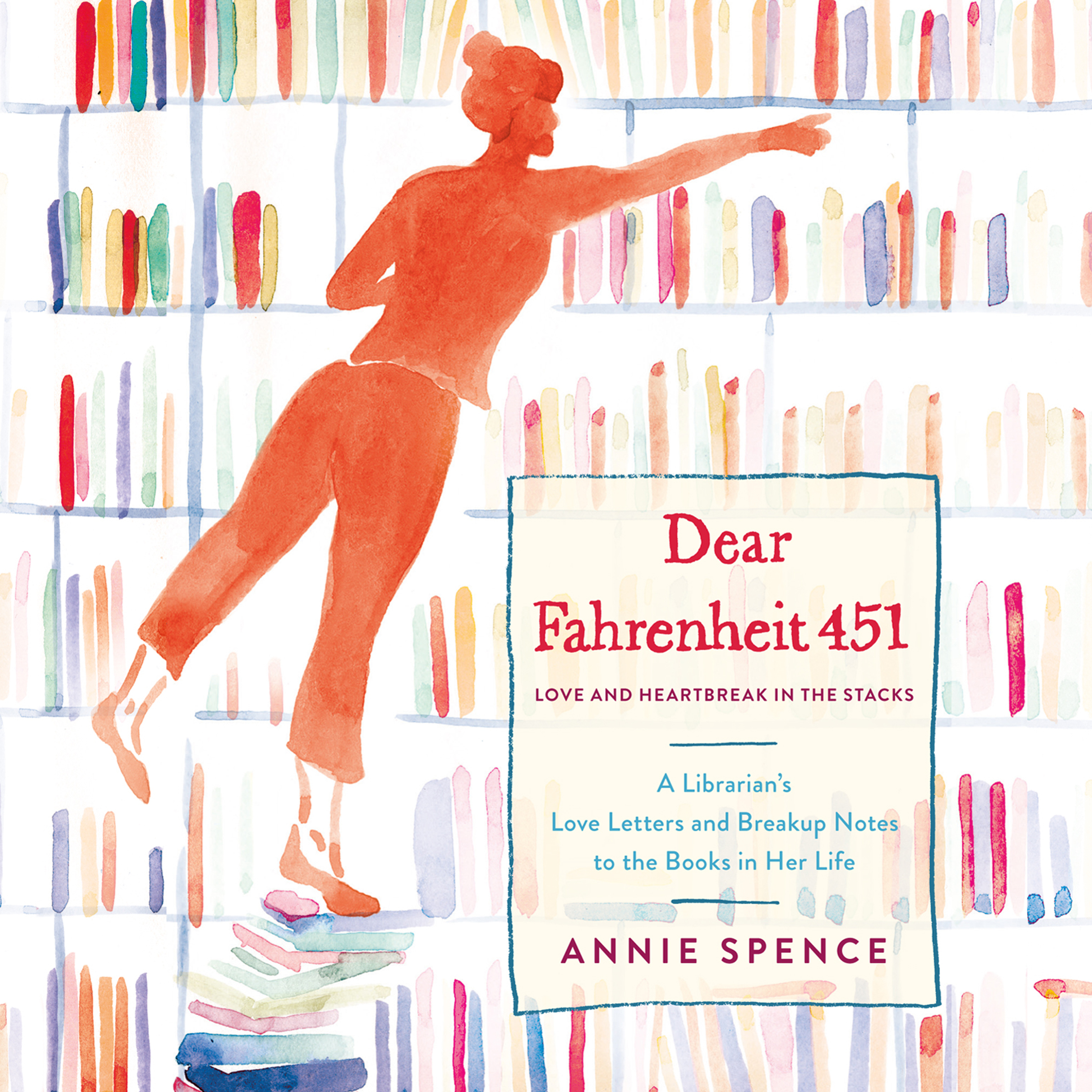Printable Dear Fahrenheit 451: Love and Heartbreak in the Stacks Audiobook Cover Art