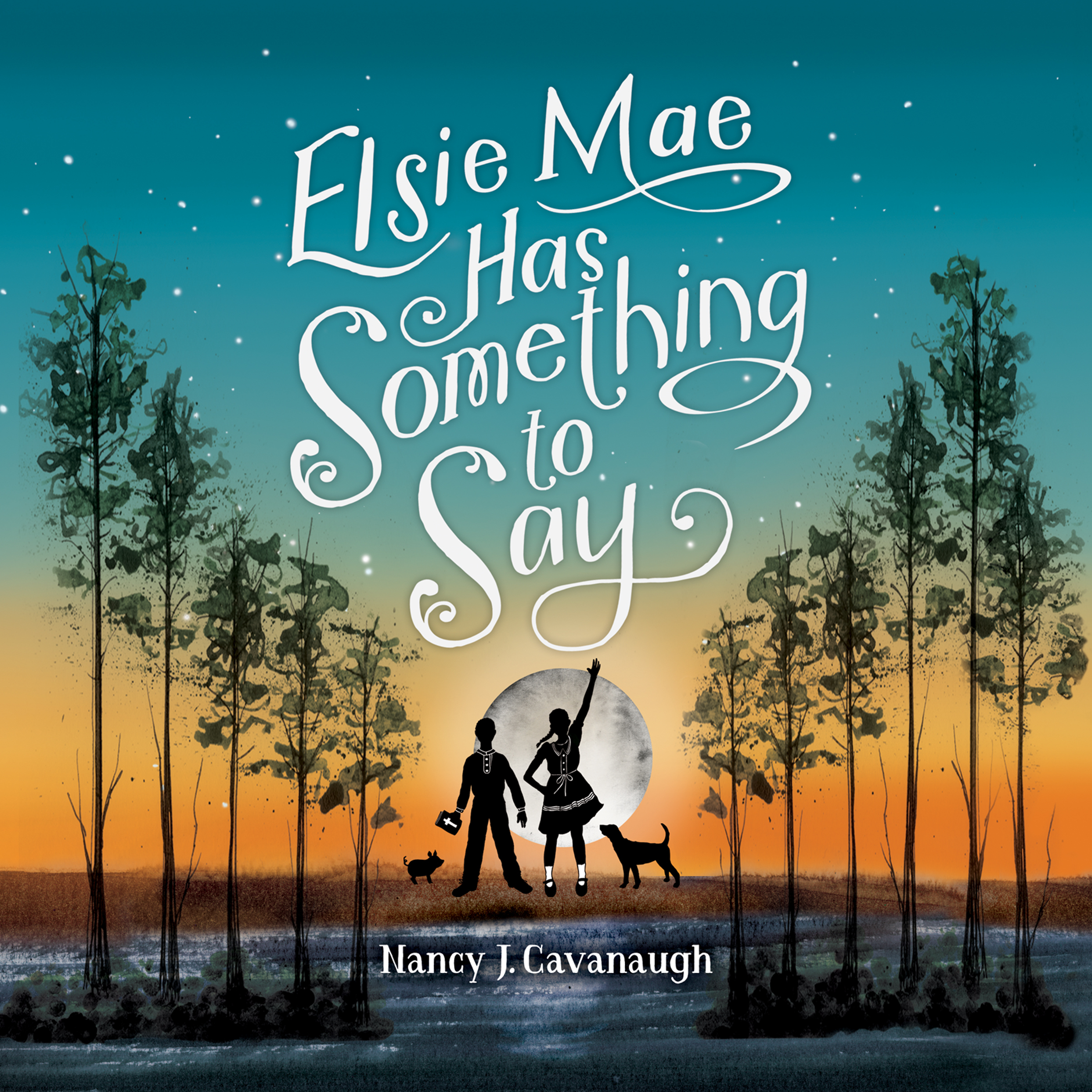Printable Elsie Mae Has Something to Say Audiobook Cover Art