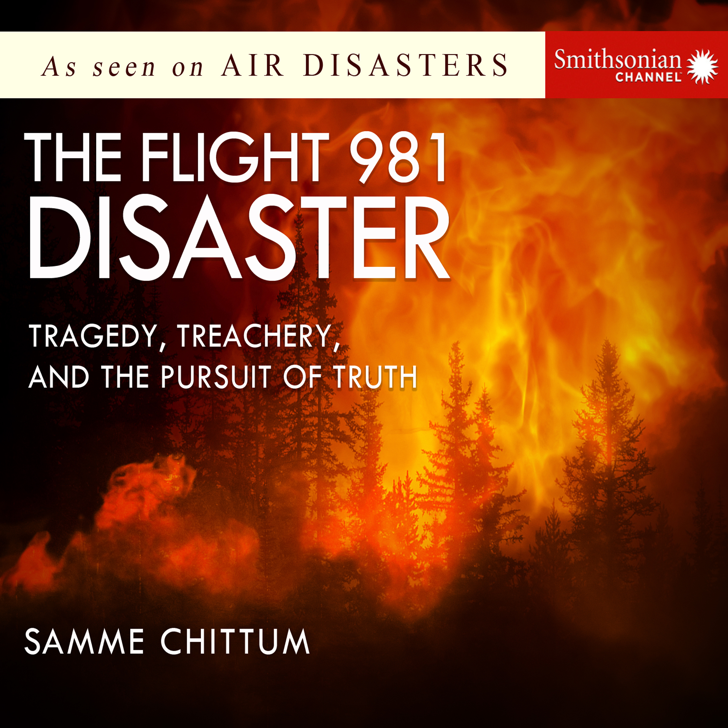 Printable The Flight 981 Disaster: Tragedy, Treachery, and the Pursuit of Truth Audiobook Cover Art