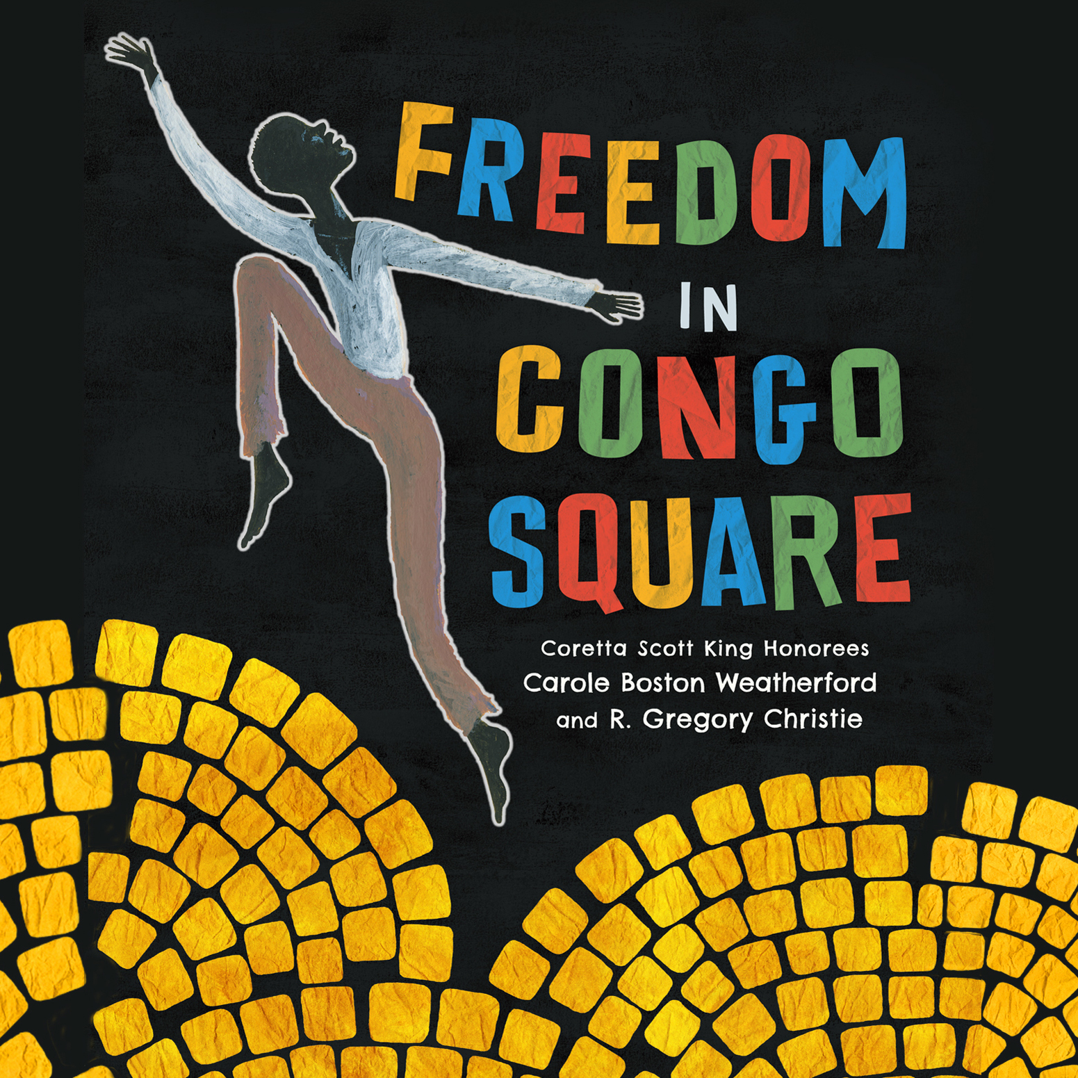 Printable Freedom in Congo Square Audiobook Cover Art