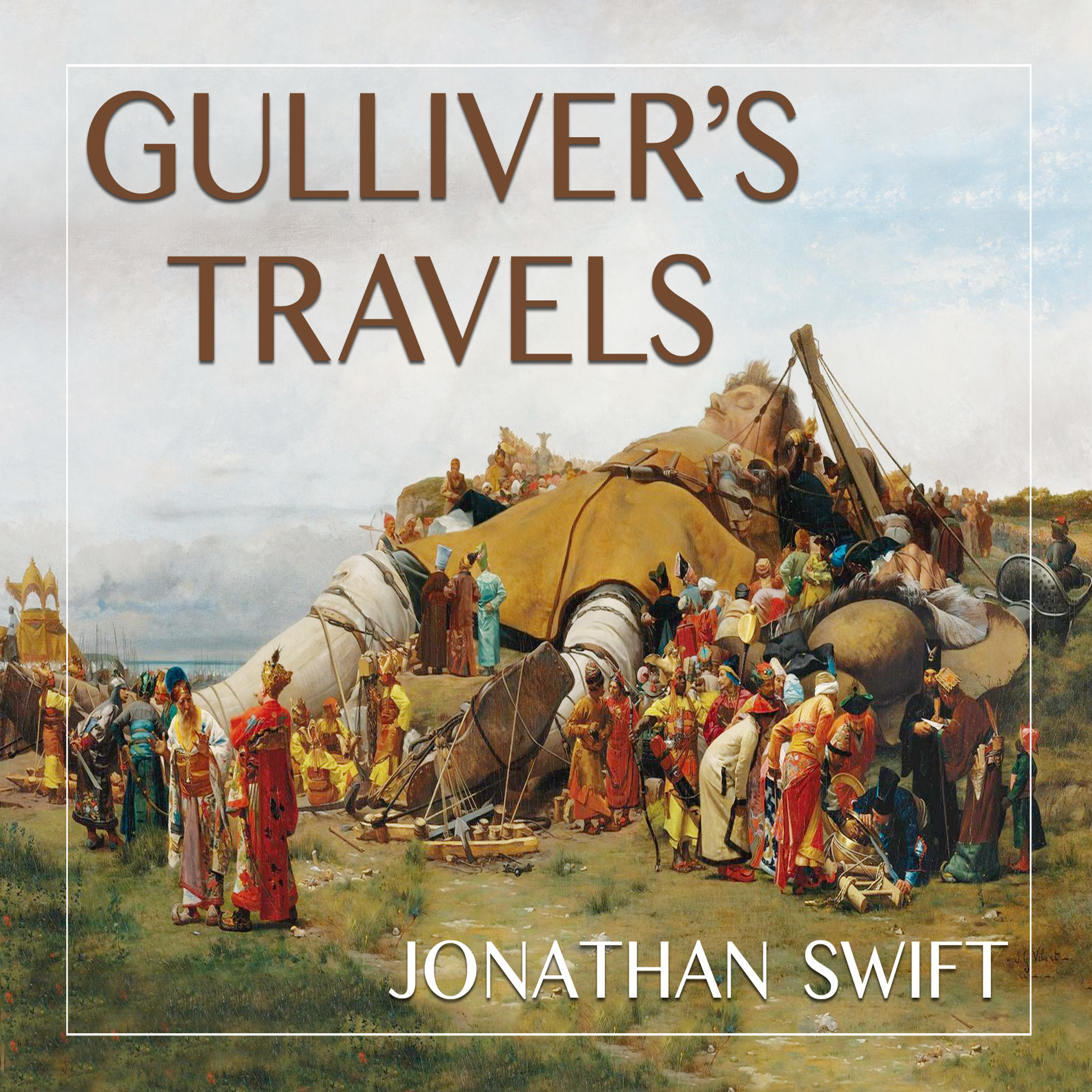 Gulliver S Travels Book Cover Drawing : Gulliver s travels audiobook by jonathan swift read