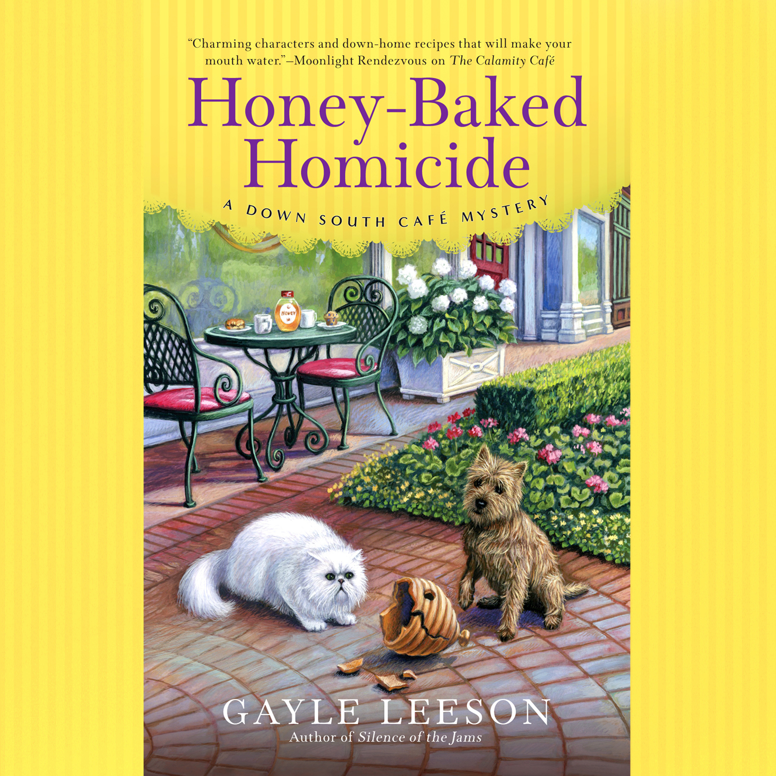 Printable Honey-Baked Homicide Audiobook Cover Art
