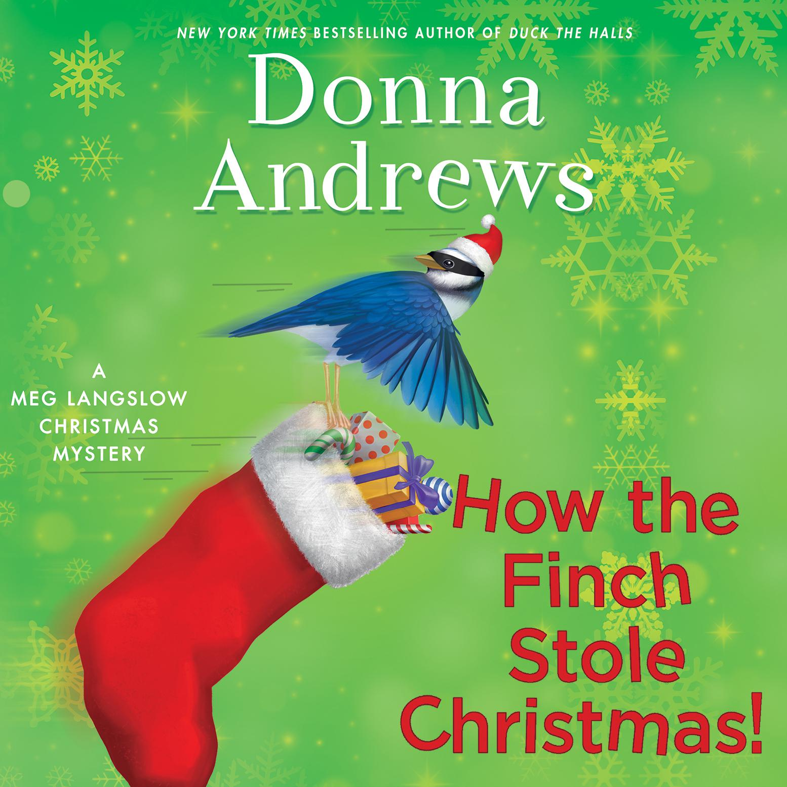 Printable How the Finch Stole Christmas! Audiobook Cover Art
