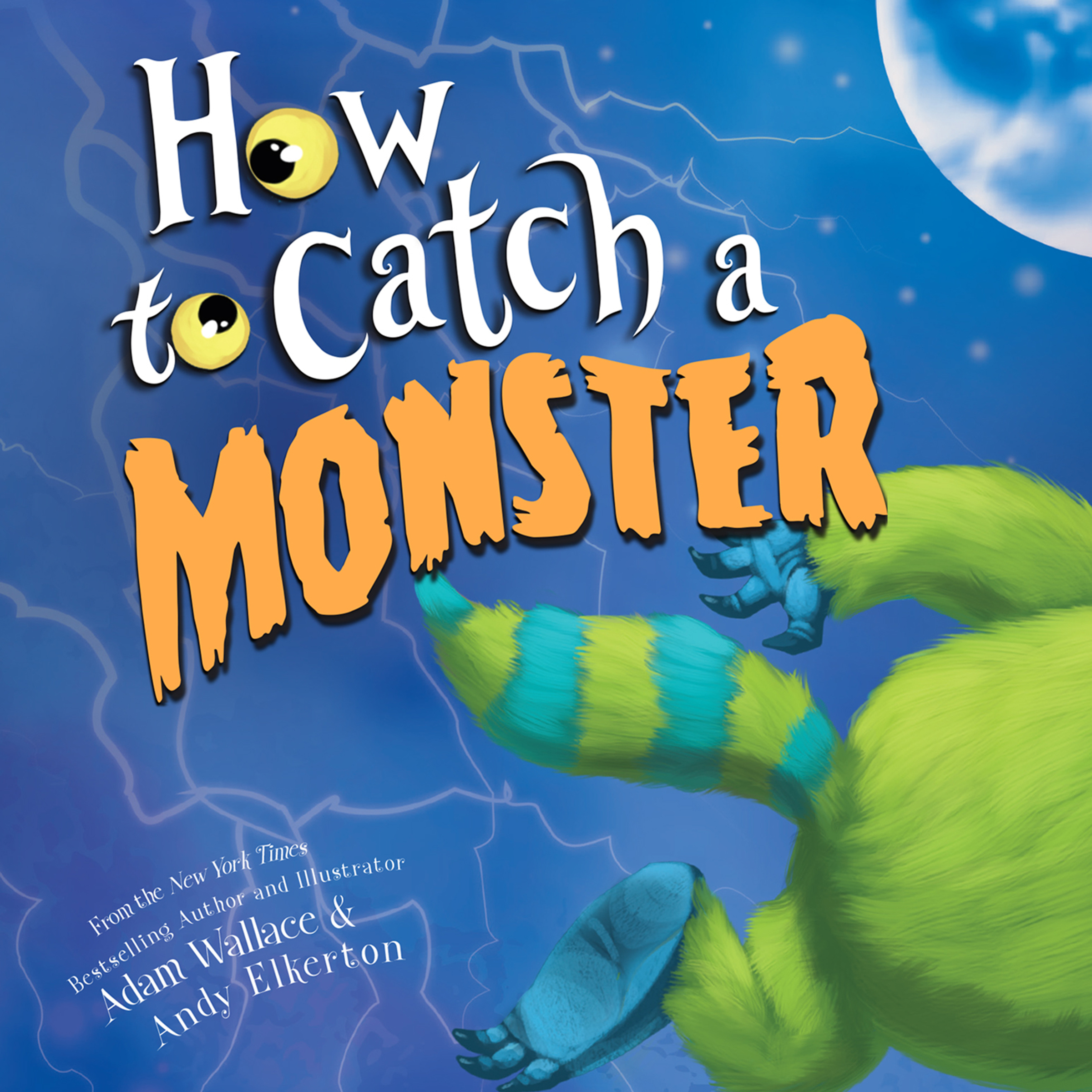 Printable How to Catch a Monster Audiobook Cover Art