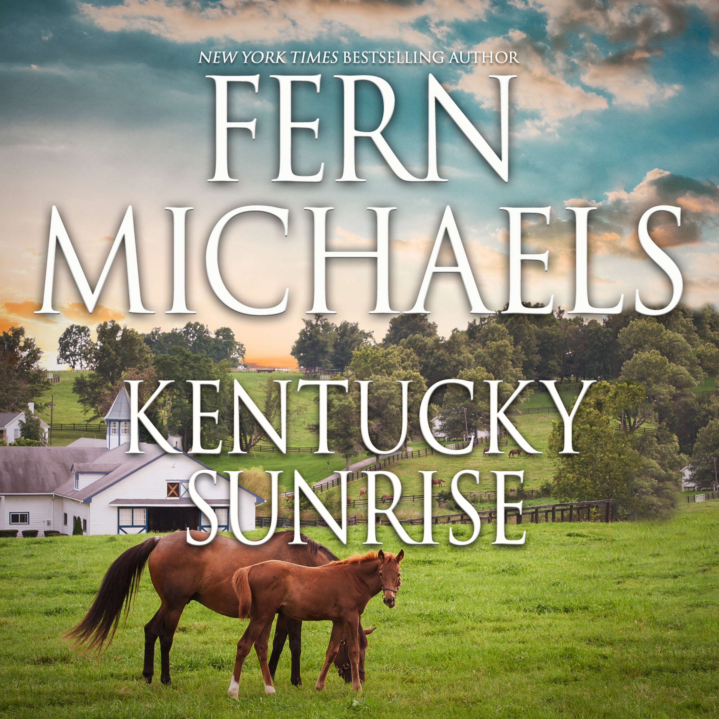 Printable Kentucky Sunrise Audiobook Cover Art
