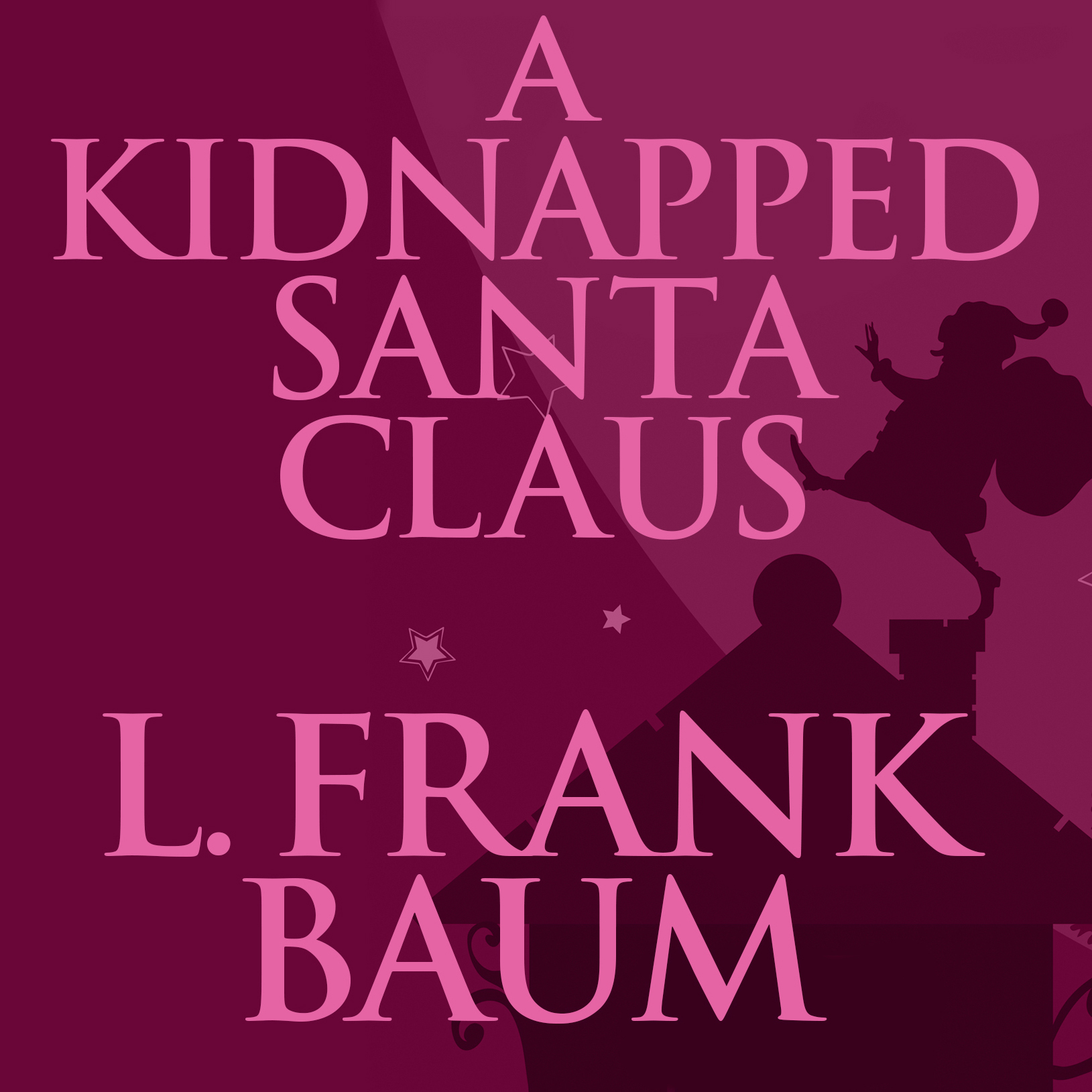 Printable A Kidnapped Santa Claus Audiobook Cover Art