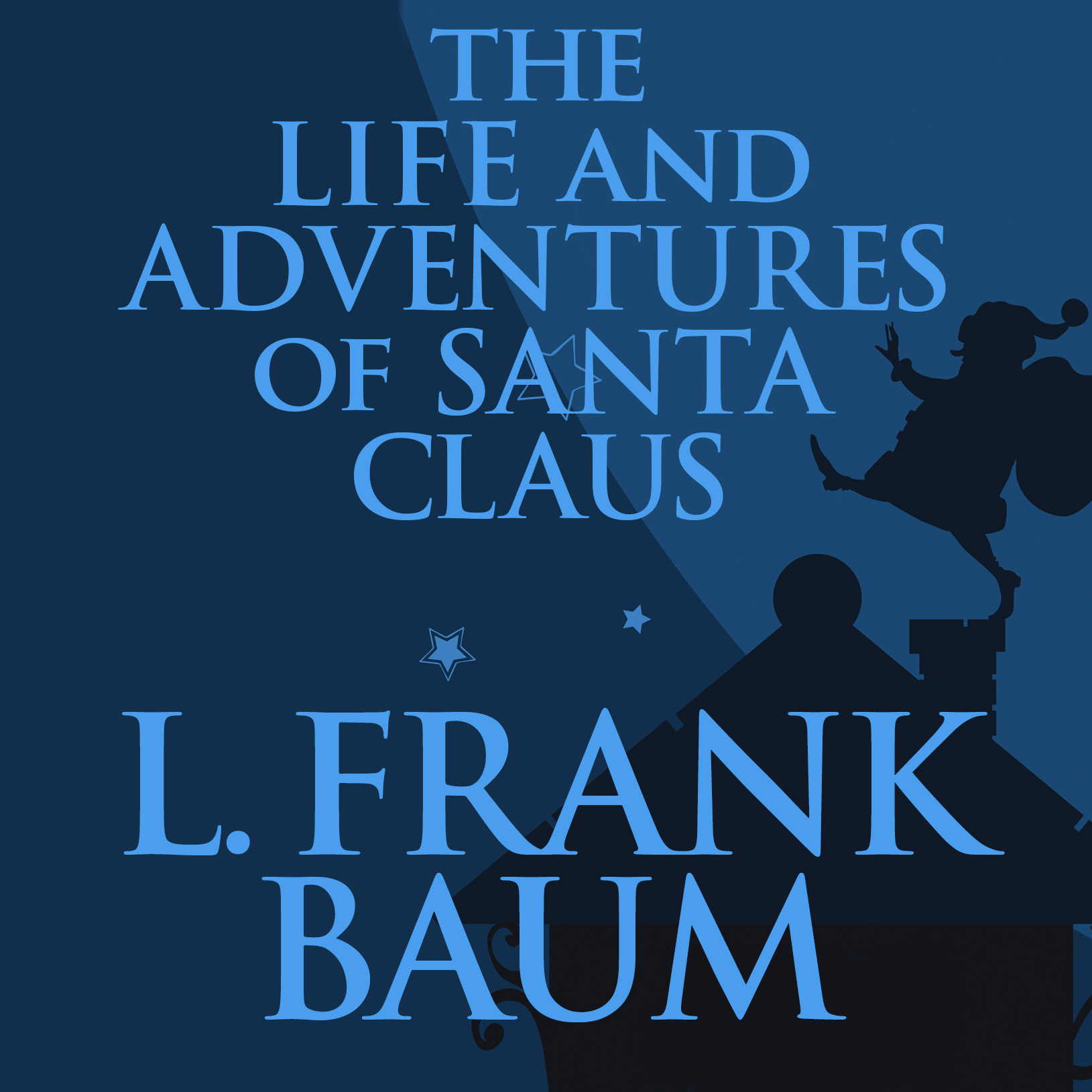 Printable The Life and Adventures of Santa Claus Audiobook Cover Art