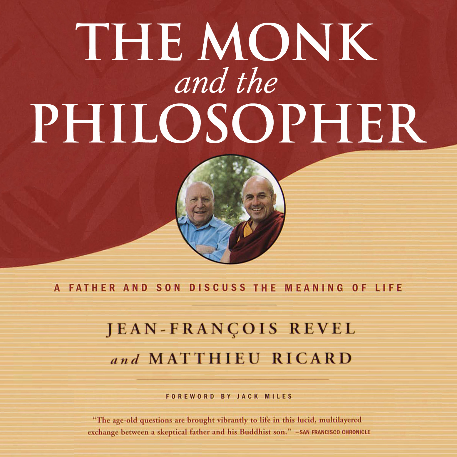 Printable The Monk and the Philosopher: A Father and Son Discuss the Meaning of Life Audiobook Cover Art