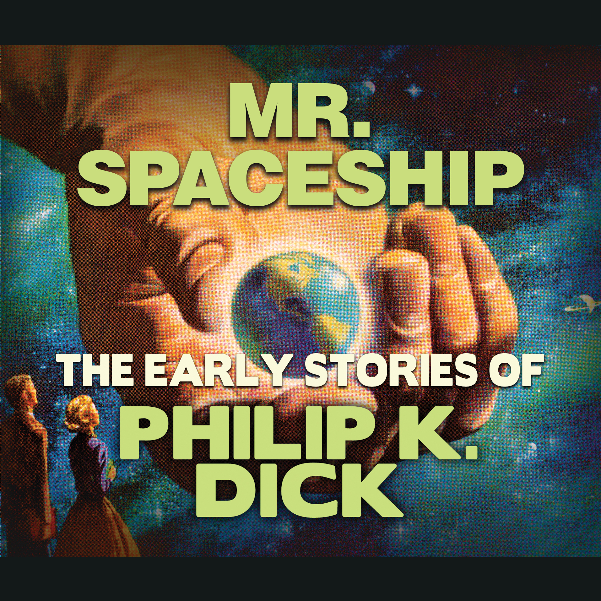 Printable Mr. Spaceship Audiobook Cover Art