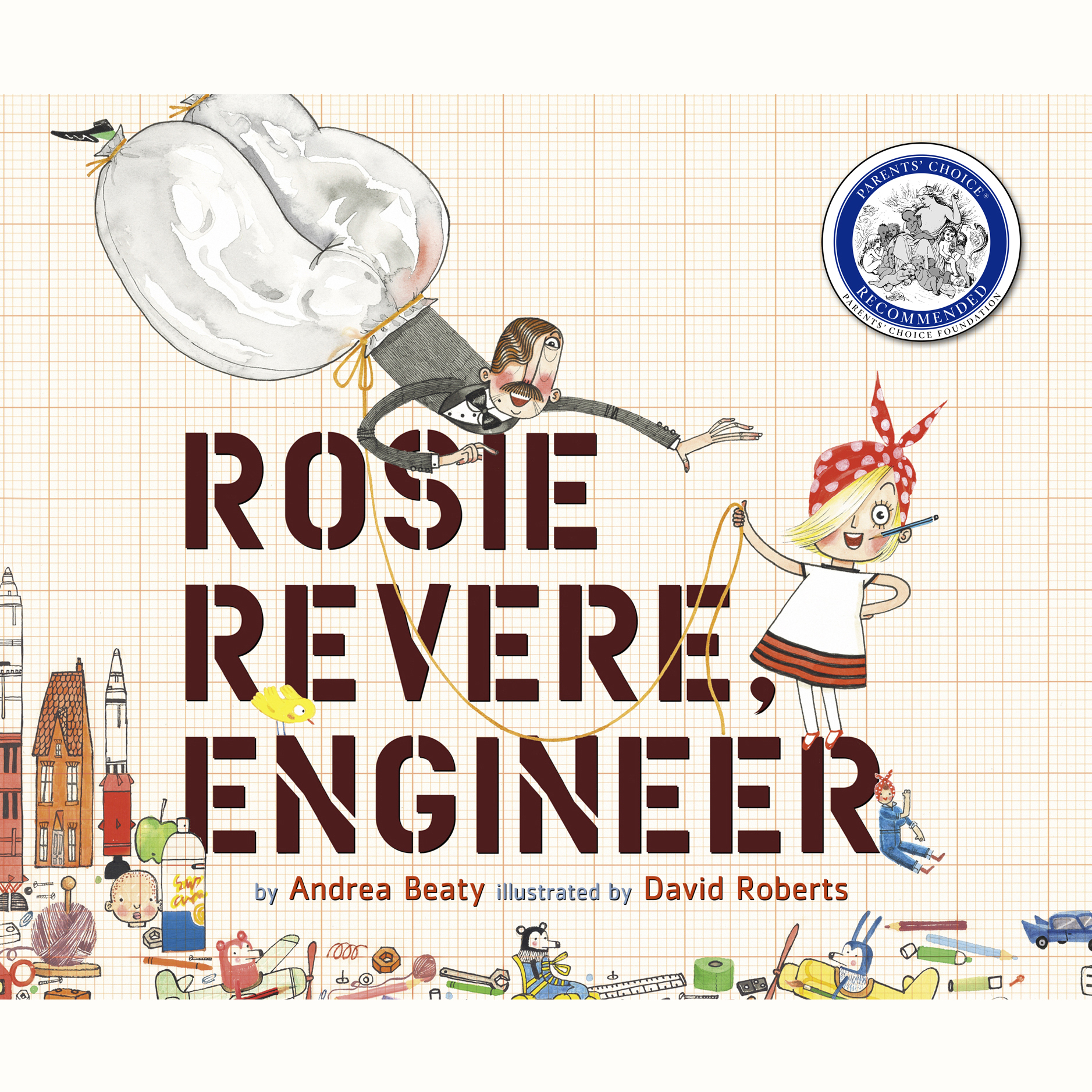 Printable Rosie Revere, Engineer Audiobook Cover Art
