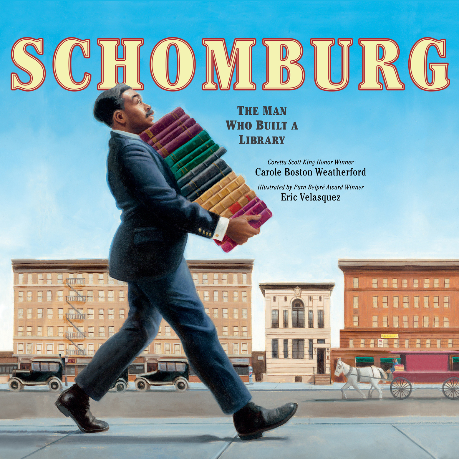 Printable Schomburg: The Man Who Built a Library: The Man Who Built a Library Audiobook Cover Art