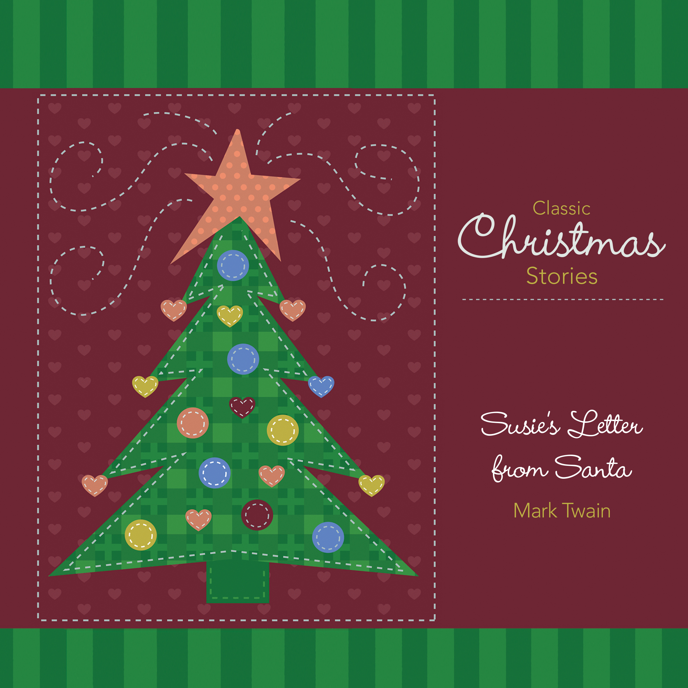 Printable Susie's Letter from Santa Audiobook Cover Art