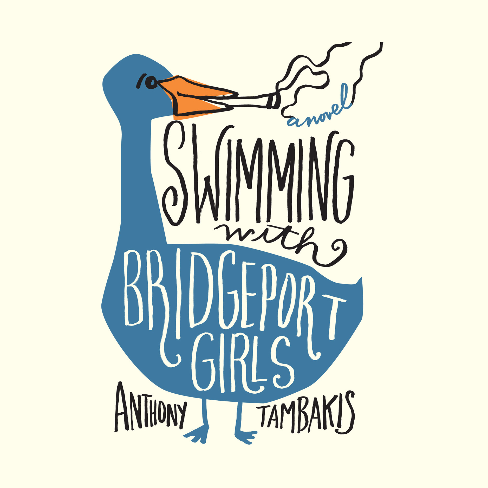 Printable Swimming with Bridgeport Girls: A Novel Audiobook Cover Art