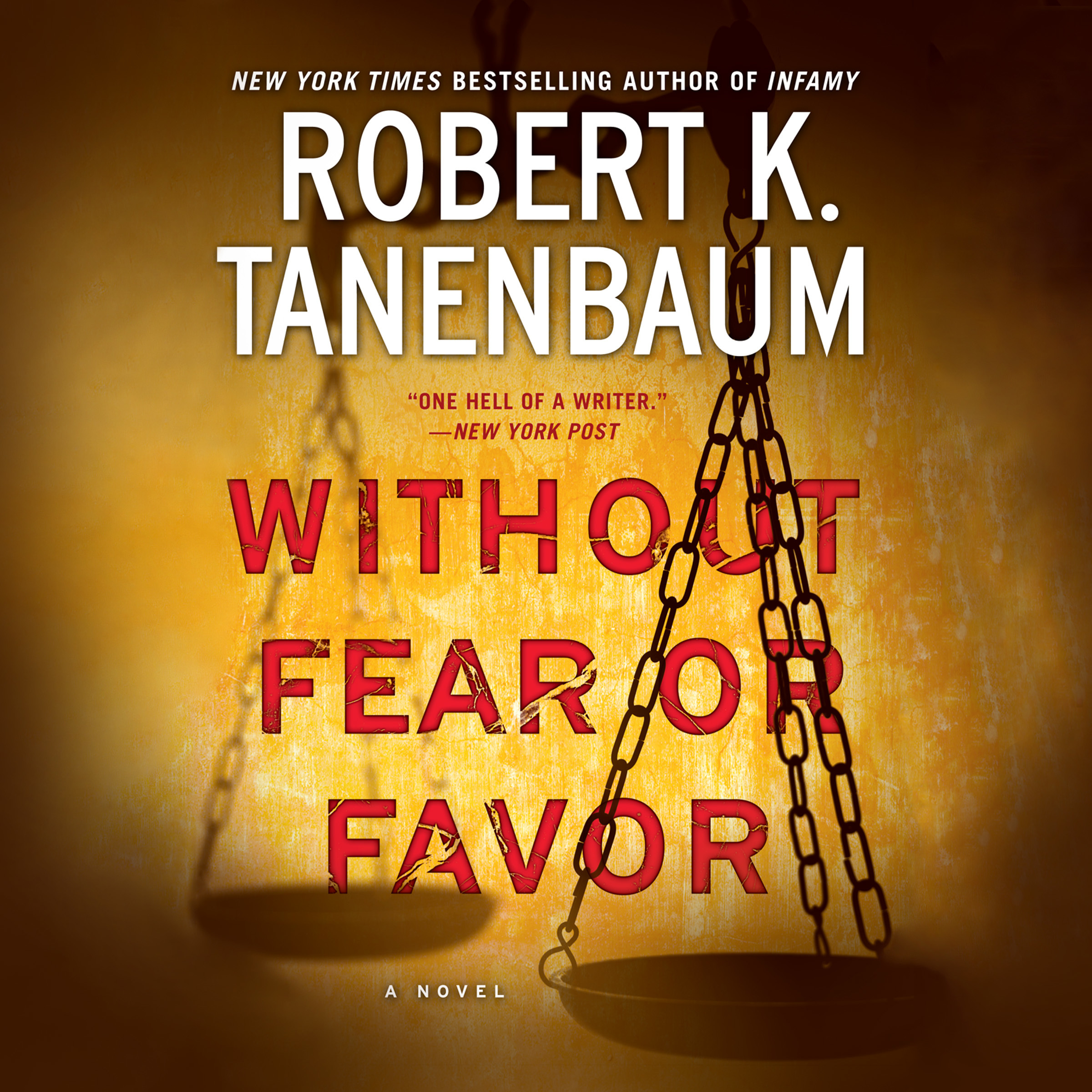Printable Without Fear or Favor: A Novel Audiobook Cover Art
