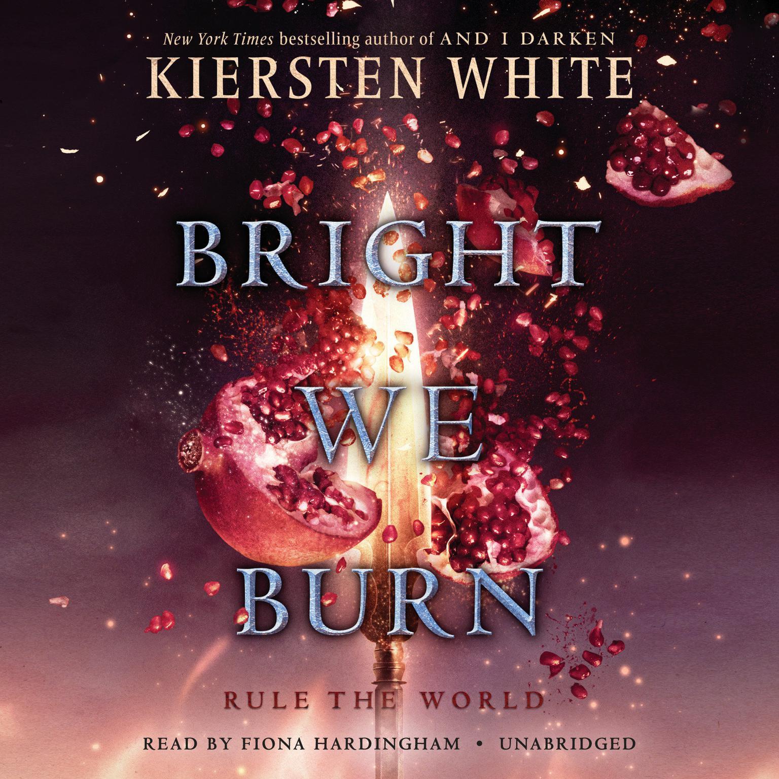 Printable Bright We Burn Audiobook Cover Art