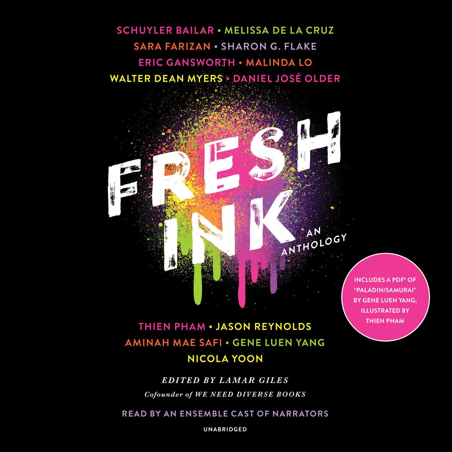 Printable Fresh Ink: An Anthology Audiobook Cover Art