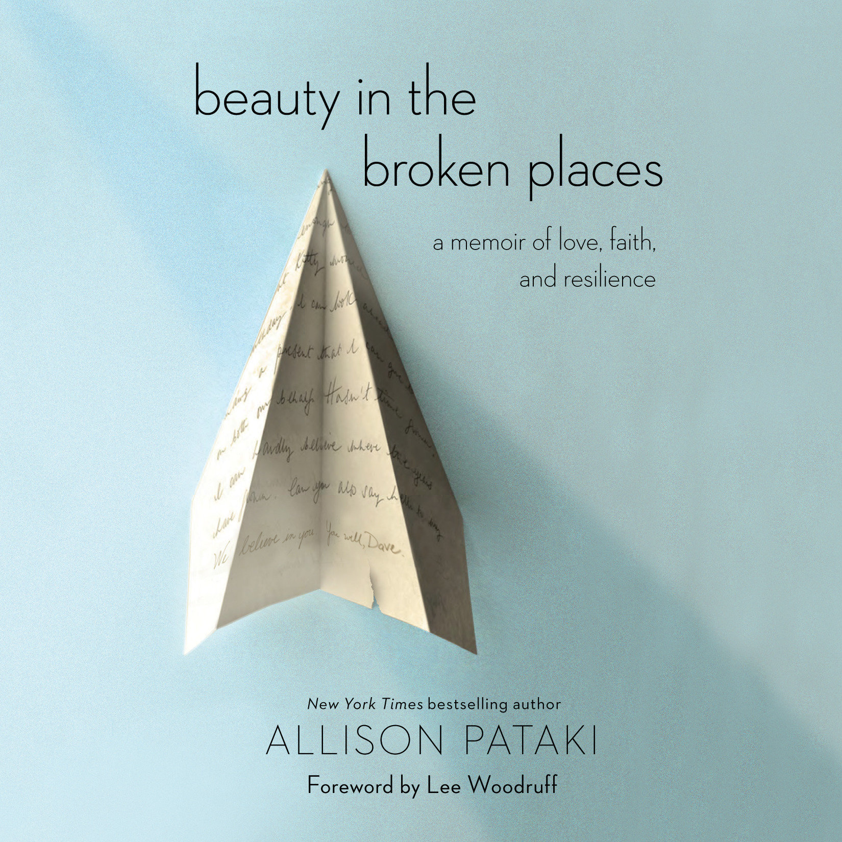 Printable Beauty in the Broken Places: A Memoir of Love, Faith, and Resilience Audiobook Cover Art
