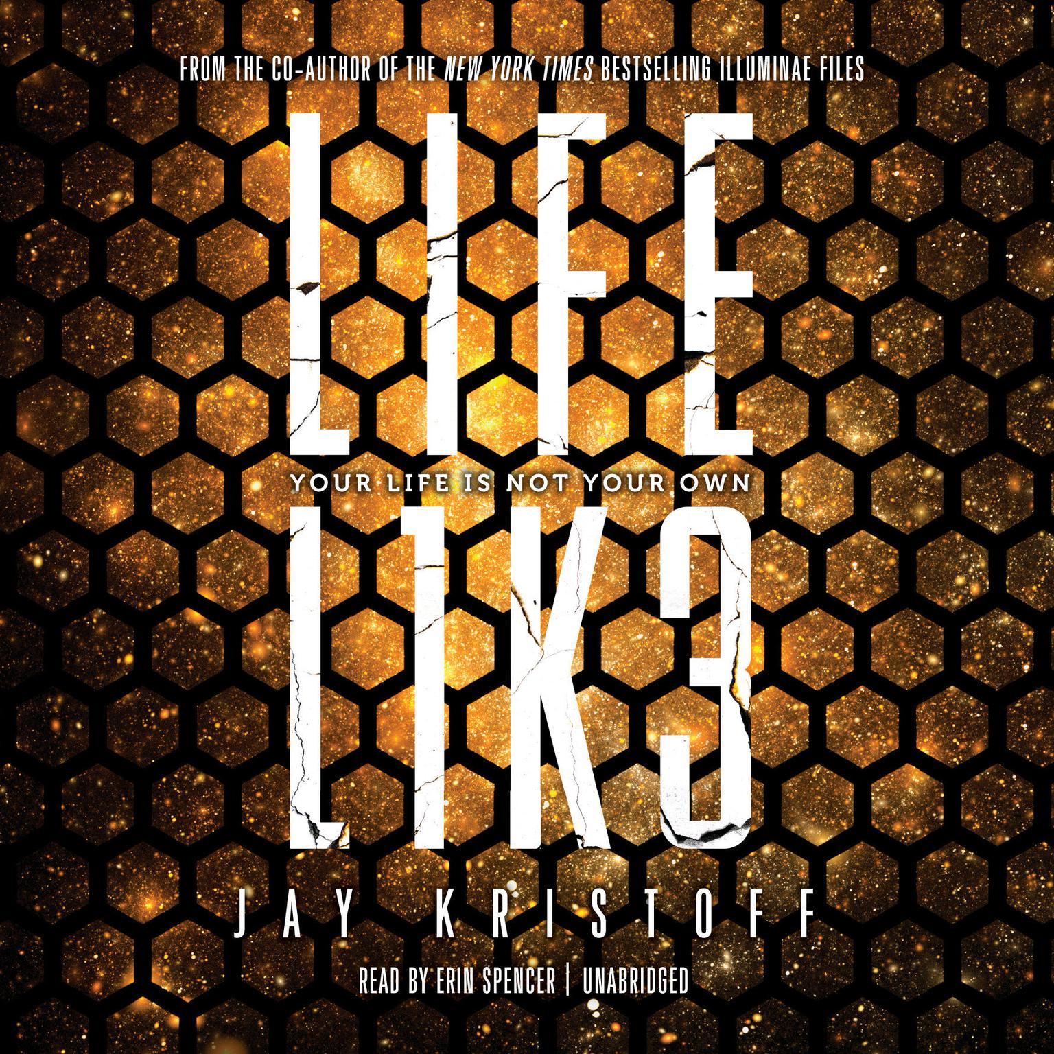 Printable LIFEL1K3 (Lifelike) Audiobook Cover Art