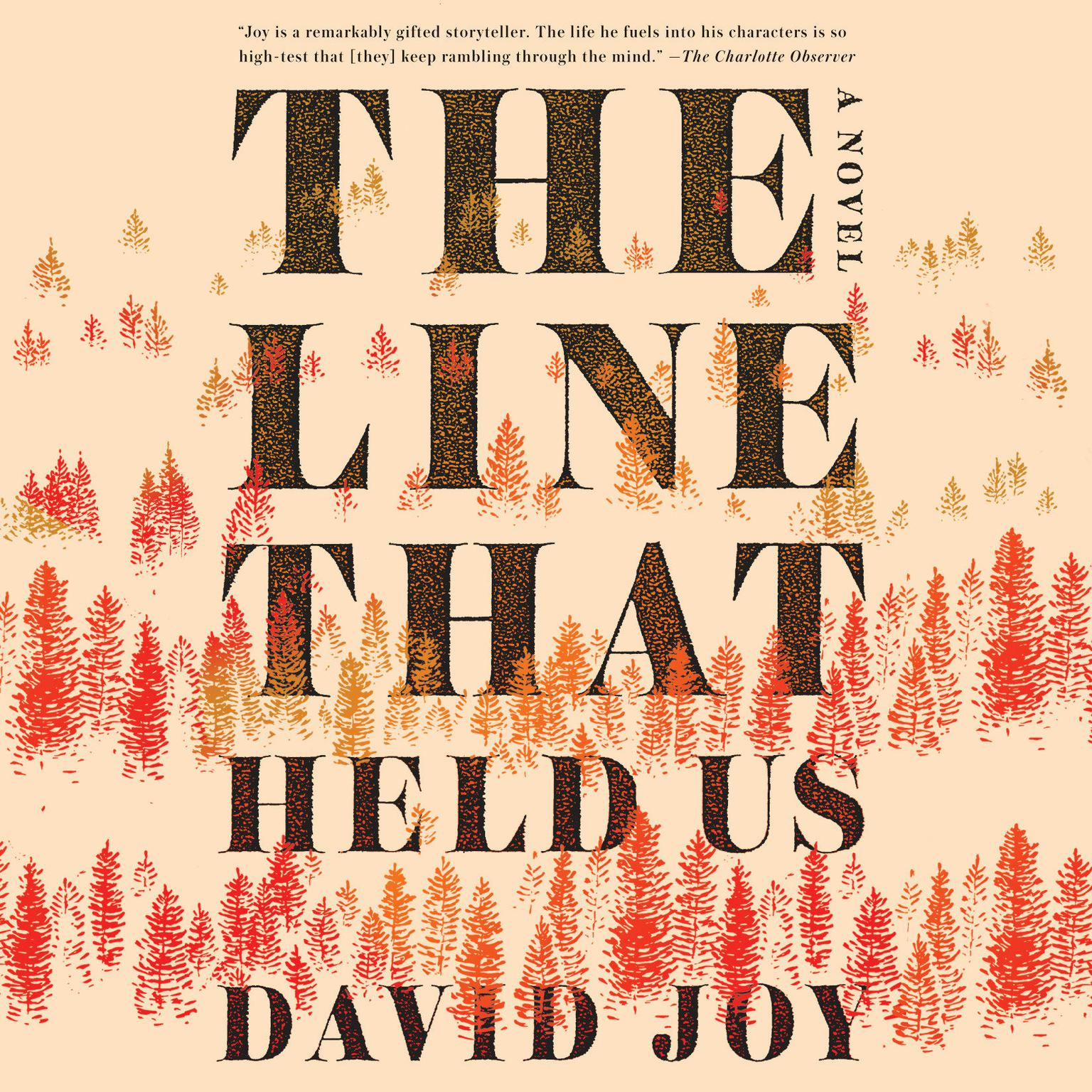 Printable The Line That Held Us Audiobook Cover Art