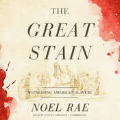 The Great Stain : Witnessing American Slavery Audiobook, by Noel Rae
