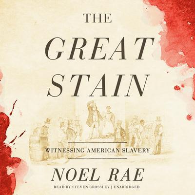 The Great Stain : Witnessing American Slavery Audiobook, by Noel Rae