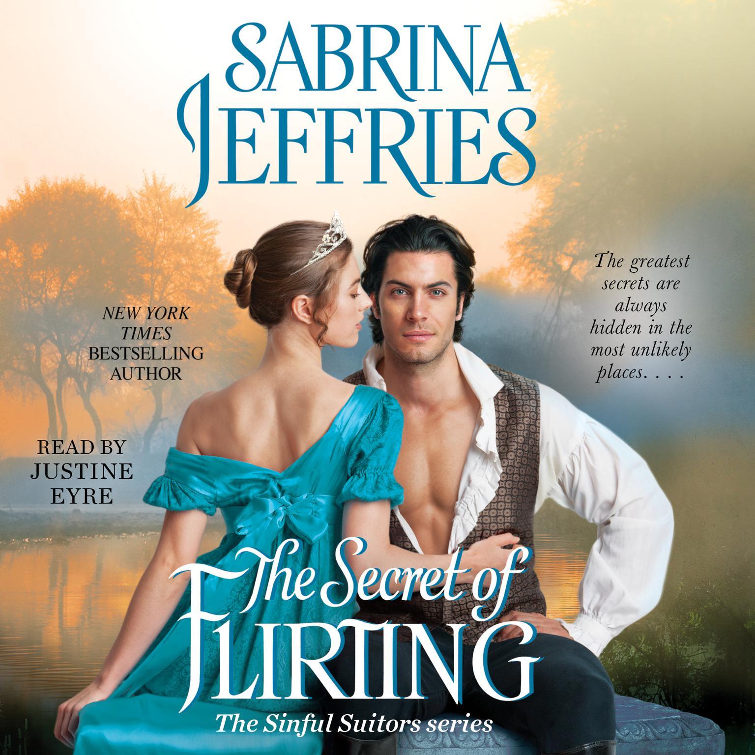 Printable The Secret of Flirting Audiobook Cover Art