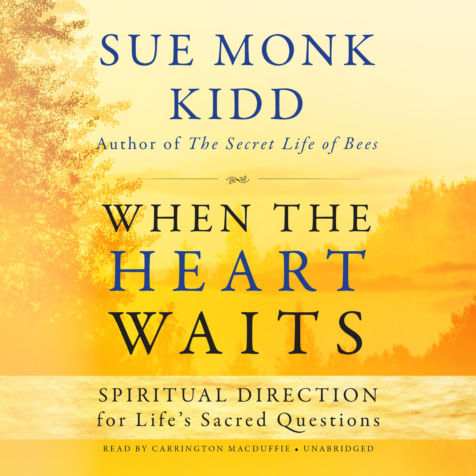 Printable When the Heart Waits: Spiritual Direction for Life's Sacred Questions  Audiobook Cover Art