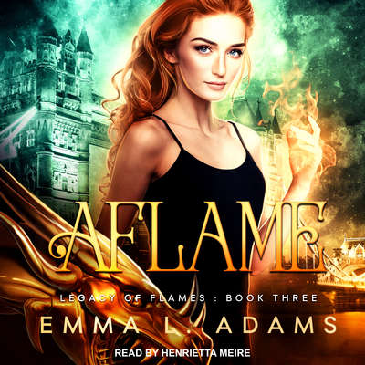Aflame Audiobook, by Emma L. Adams