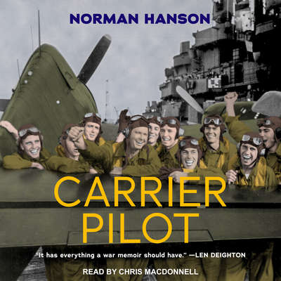 Carrier Pilot Audiobook, by Norman Hanson