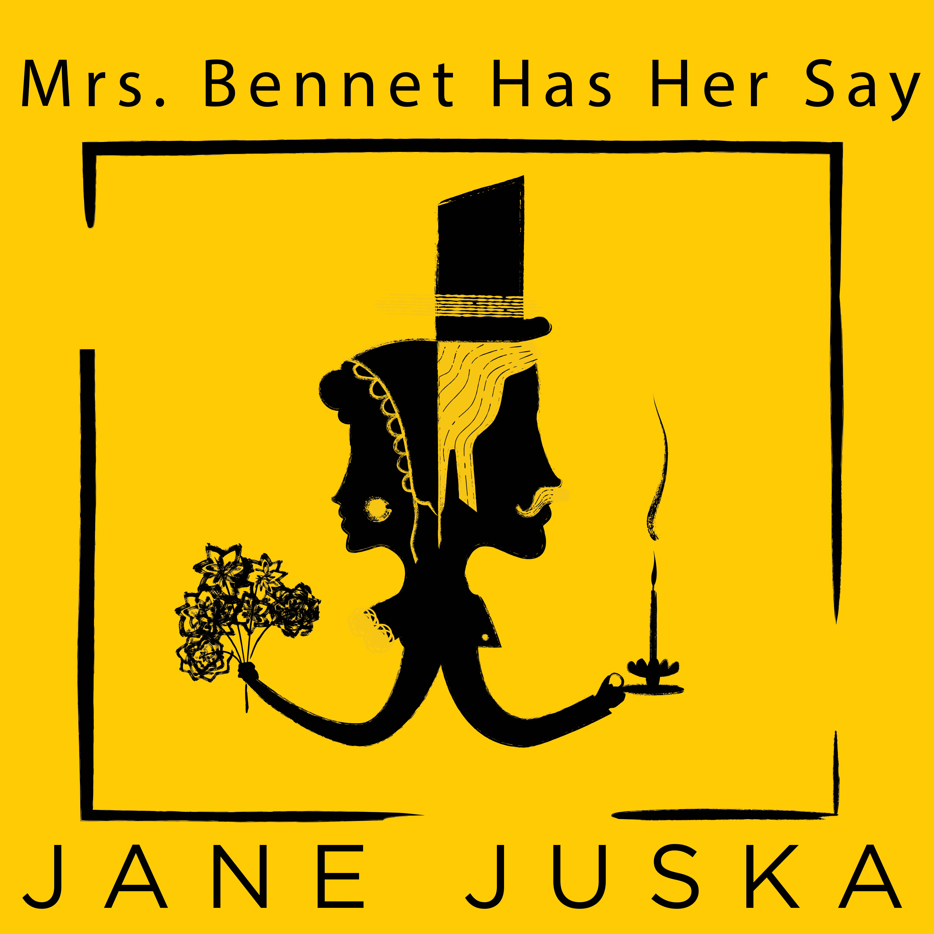 Printable Mrs. Bennet Has Her Say Audiobook Cover Art
